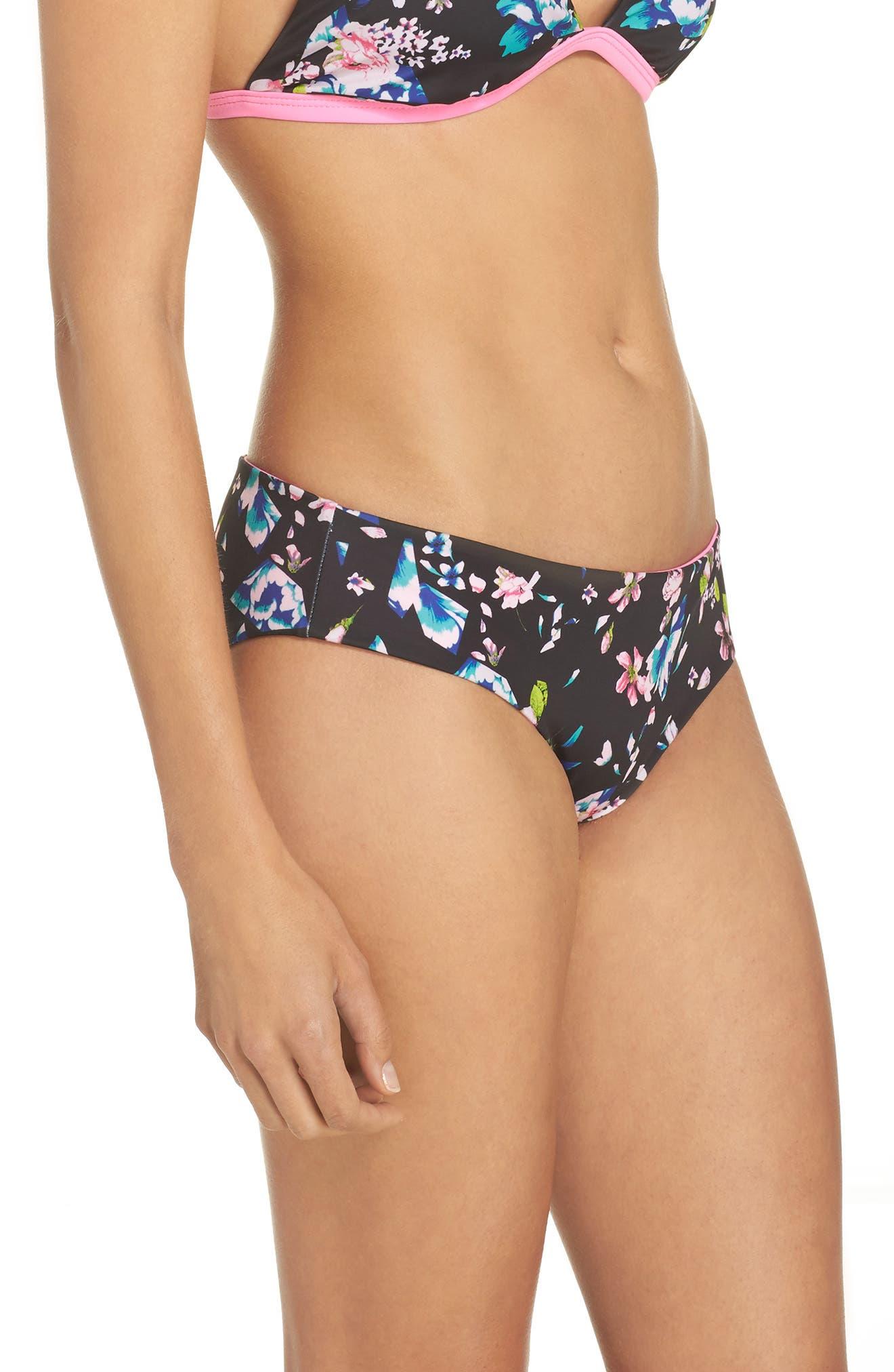 Reversible Hipster Bikini Bottoms,                             Alternate thumbnail 22, color,