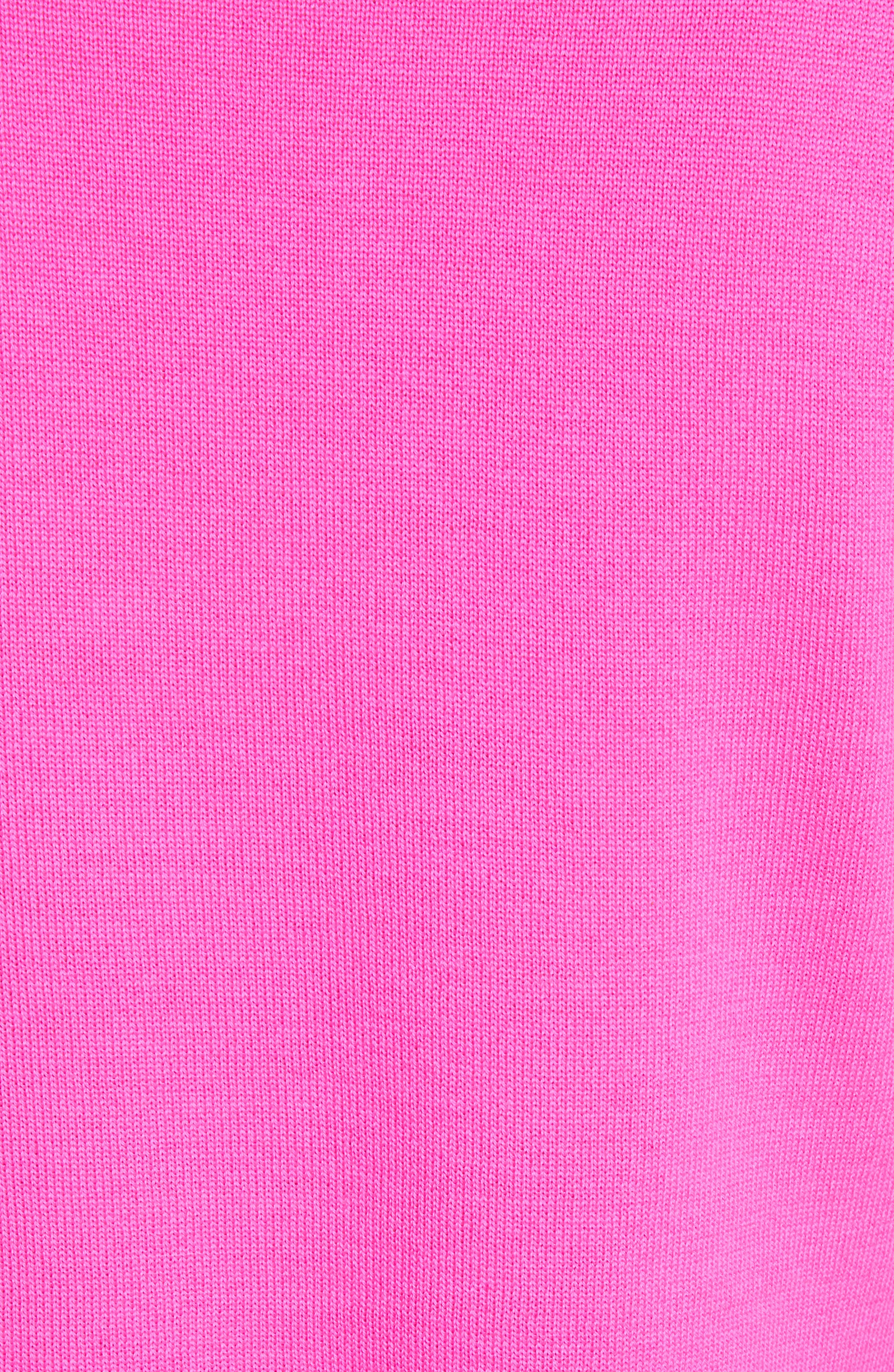 Button Detail Merino Wool Crop Sweater,                             Alternate thumbnail 5, color,                             650