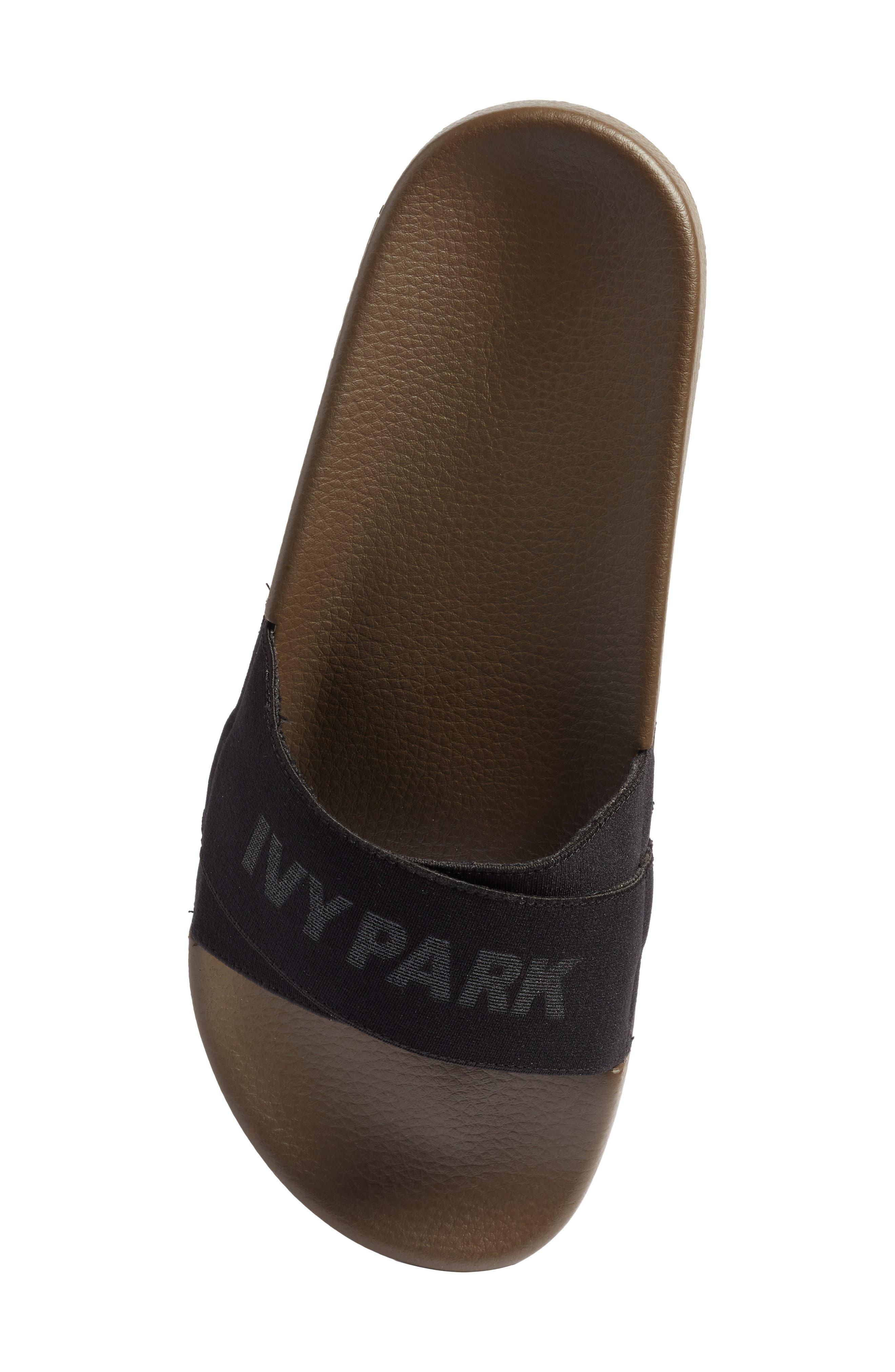 Logo Tape Slide Sandal,                             Alternate thumbnail 5, color,                             300