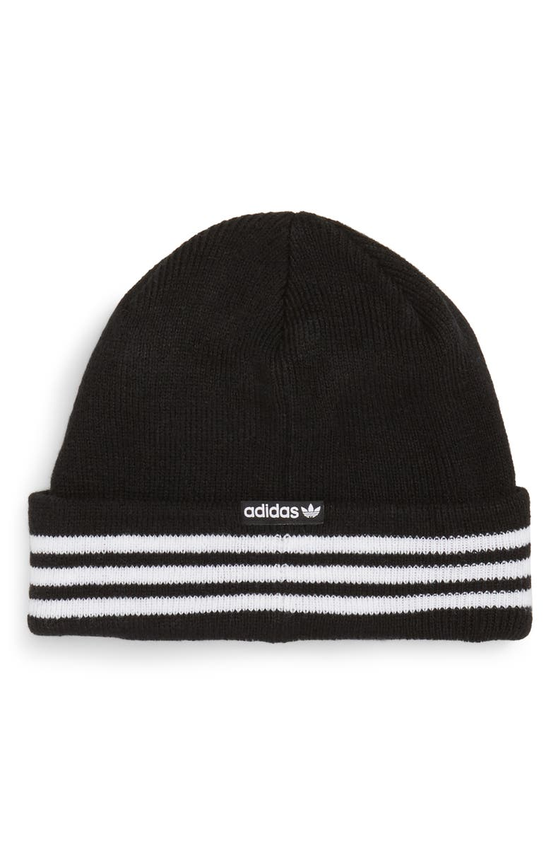ADIDAS ORIGINALS FOUNDATION BEANIE - BLACK