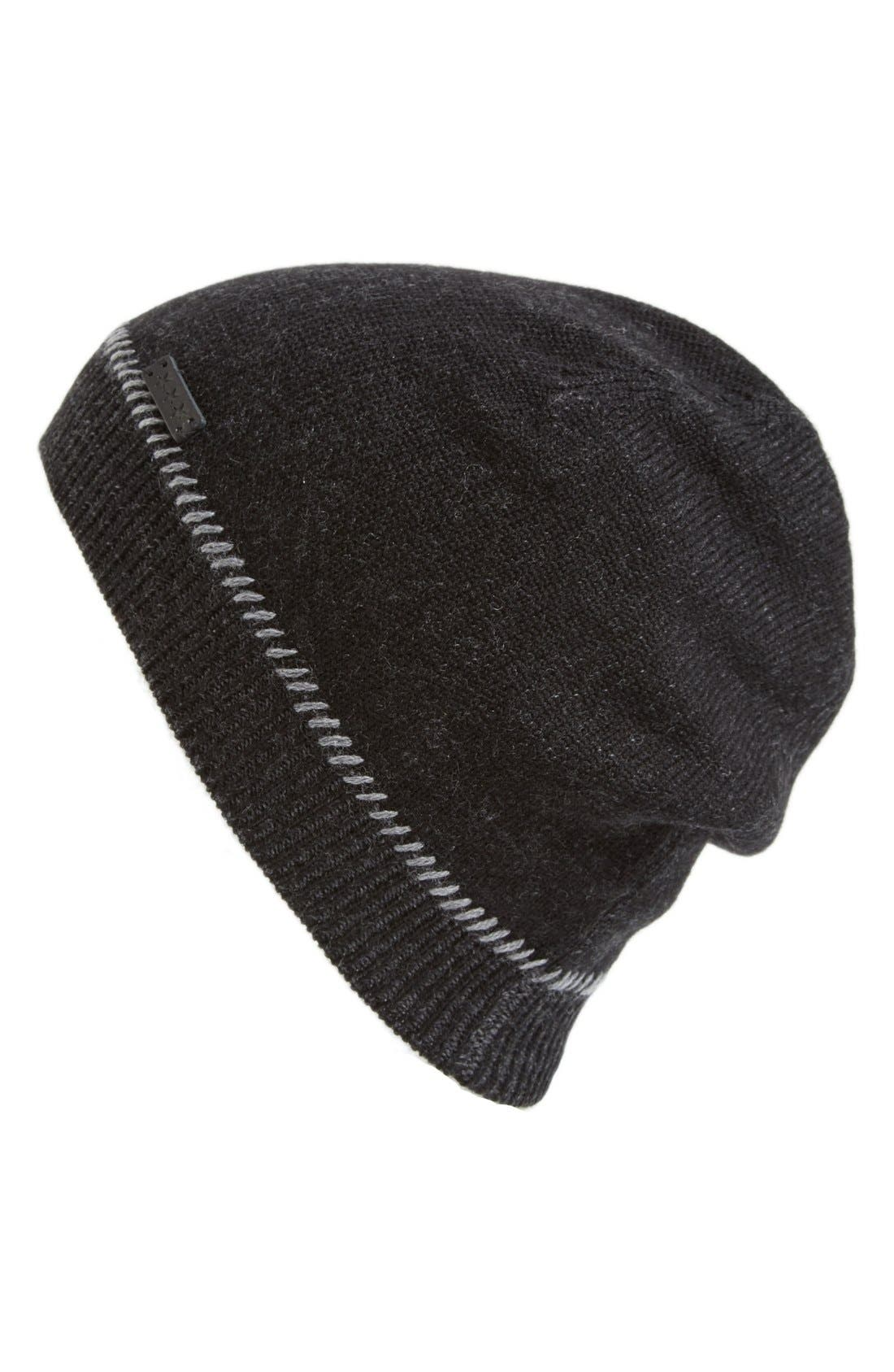 Wool Beanie,                             Main thumbnail 1, color,                             001