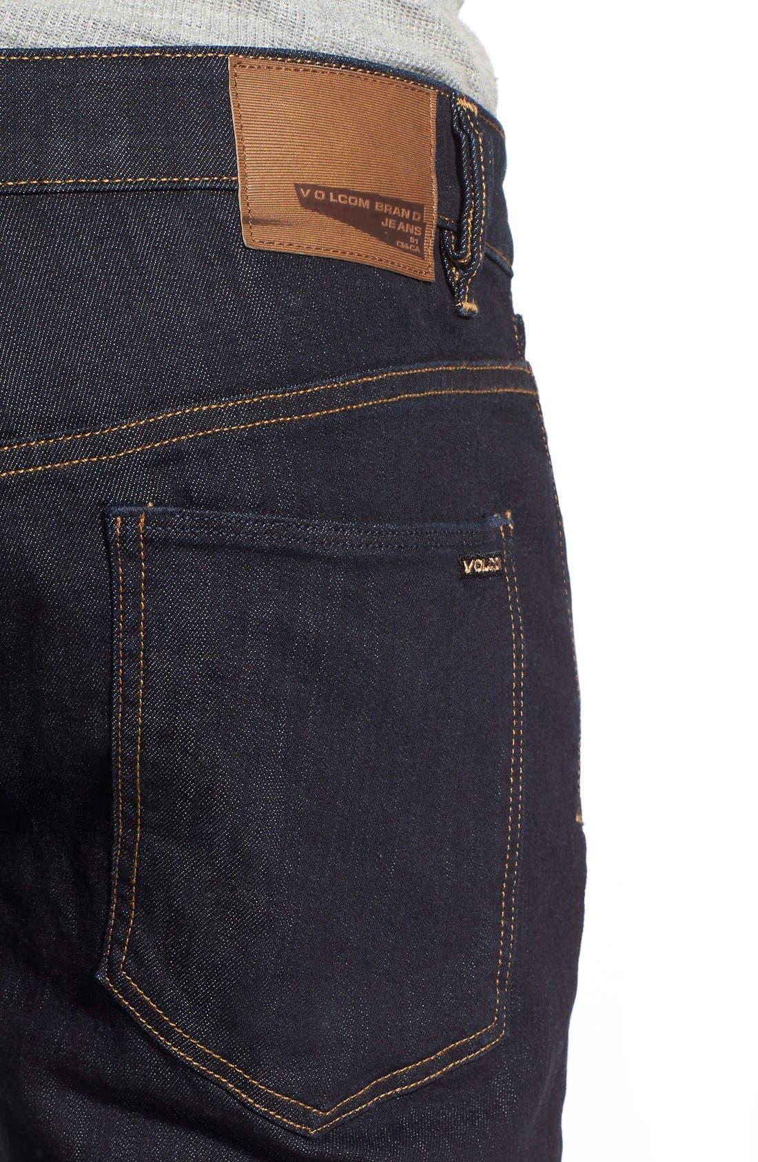 'Solver' Straight Leg Jeans,                             Alternate thumbnail 12, color,