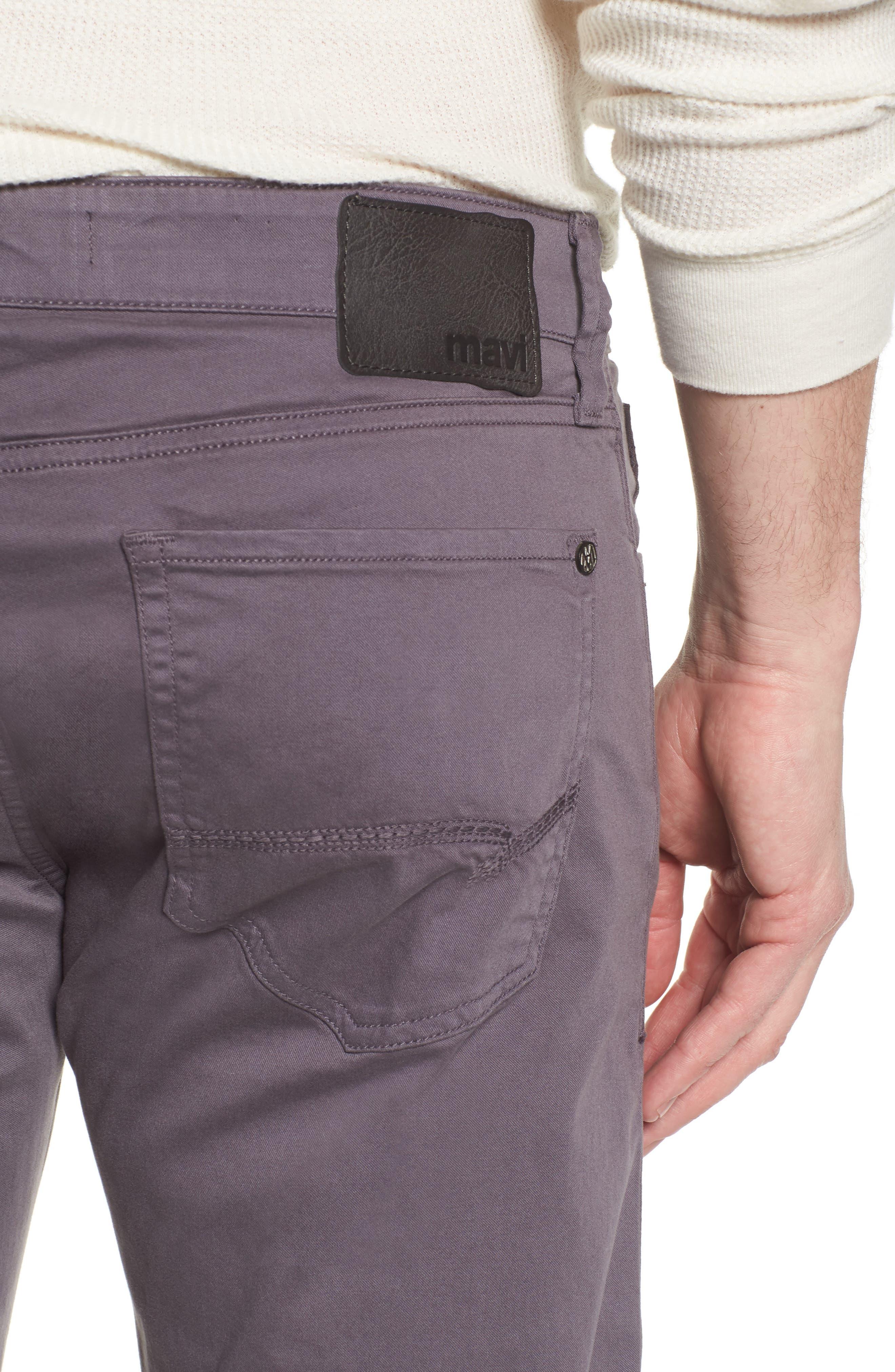MAVI JEANS,                             Zach Straight Fit Twill Pants,                             Alternate thumbnail 4, color,                             050