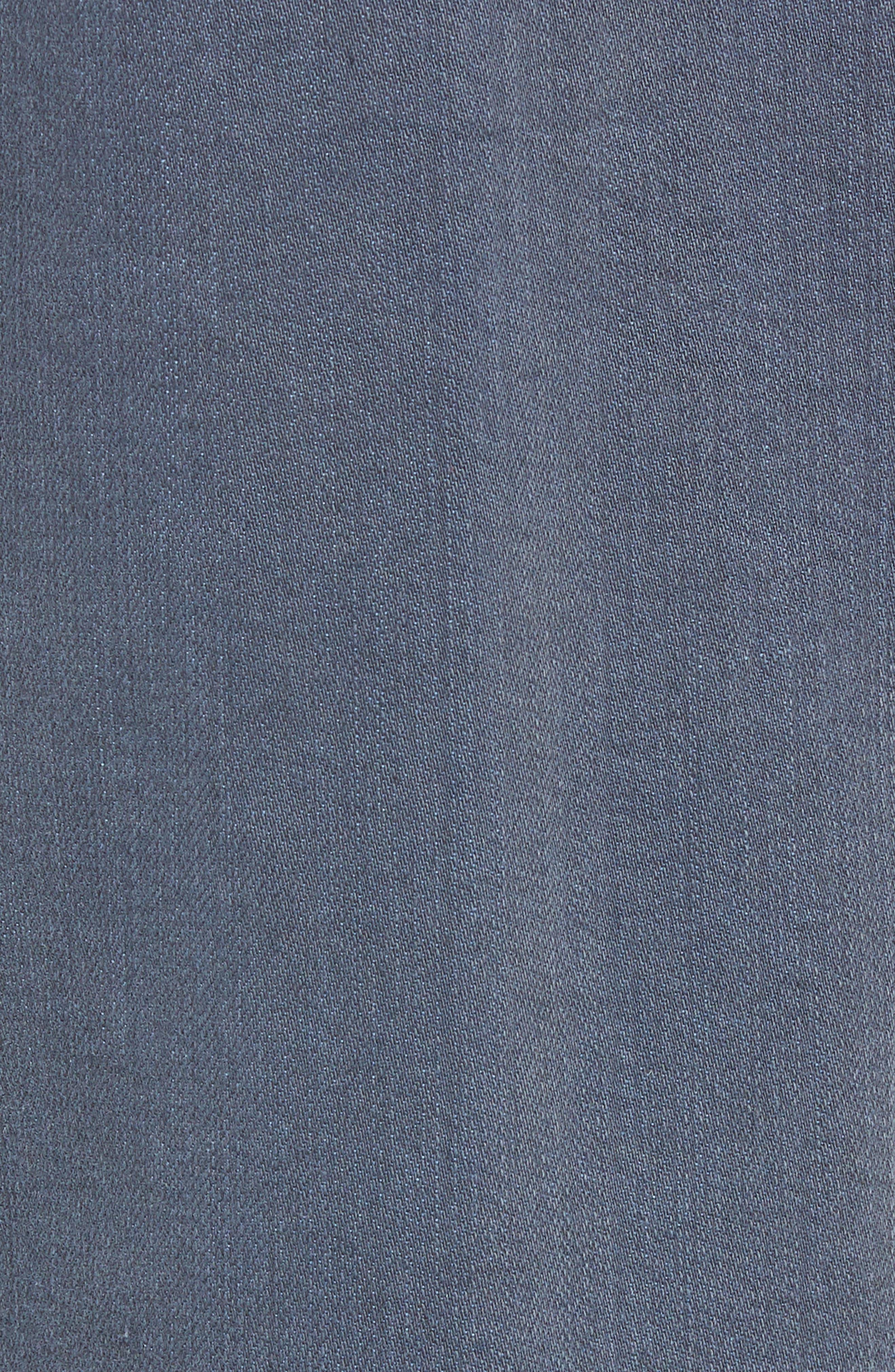 Graduate Slim Straight Leg Jeans,                             Alternate thumbnail 5, color,                             FLUXING TIDES