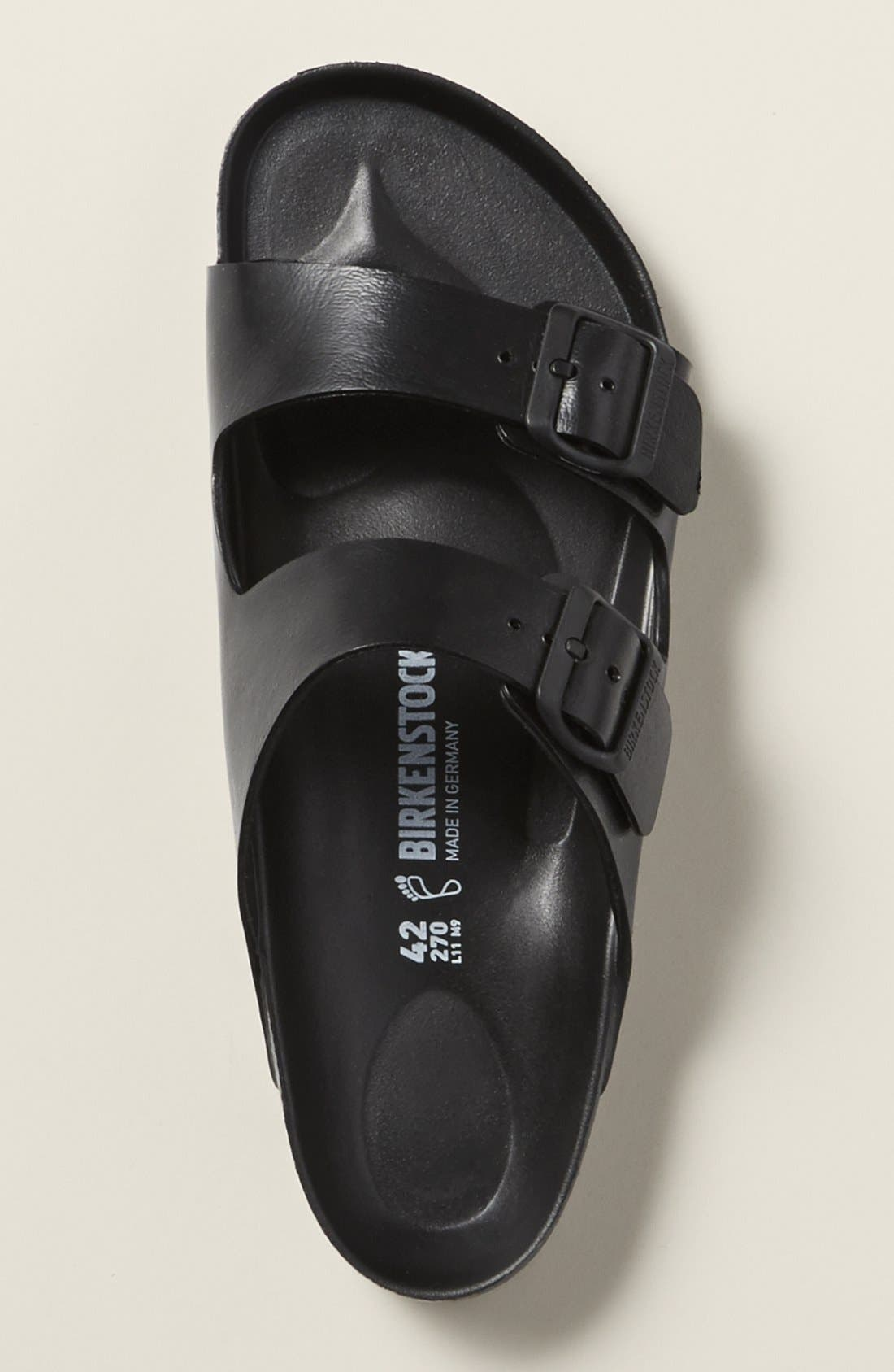 'Essentials - Arizona EVA' Waterproof Slide Sandal,                             Alternate thumbnail 11, color,                             WHITE