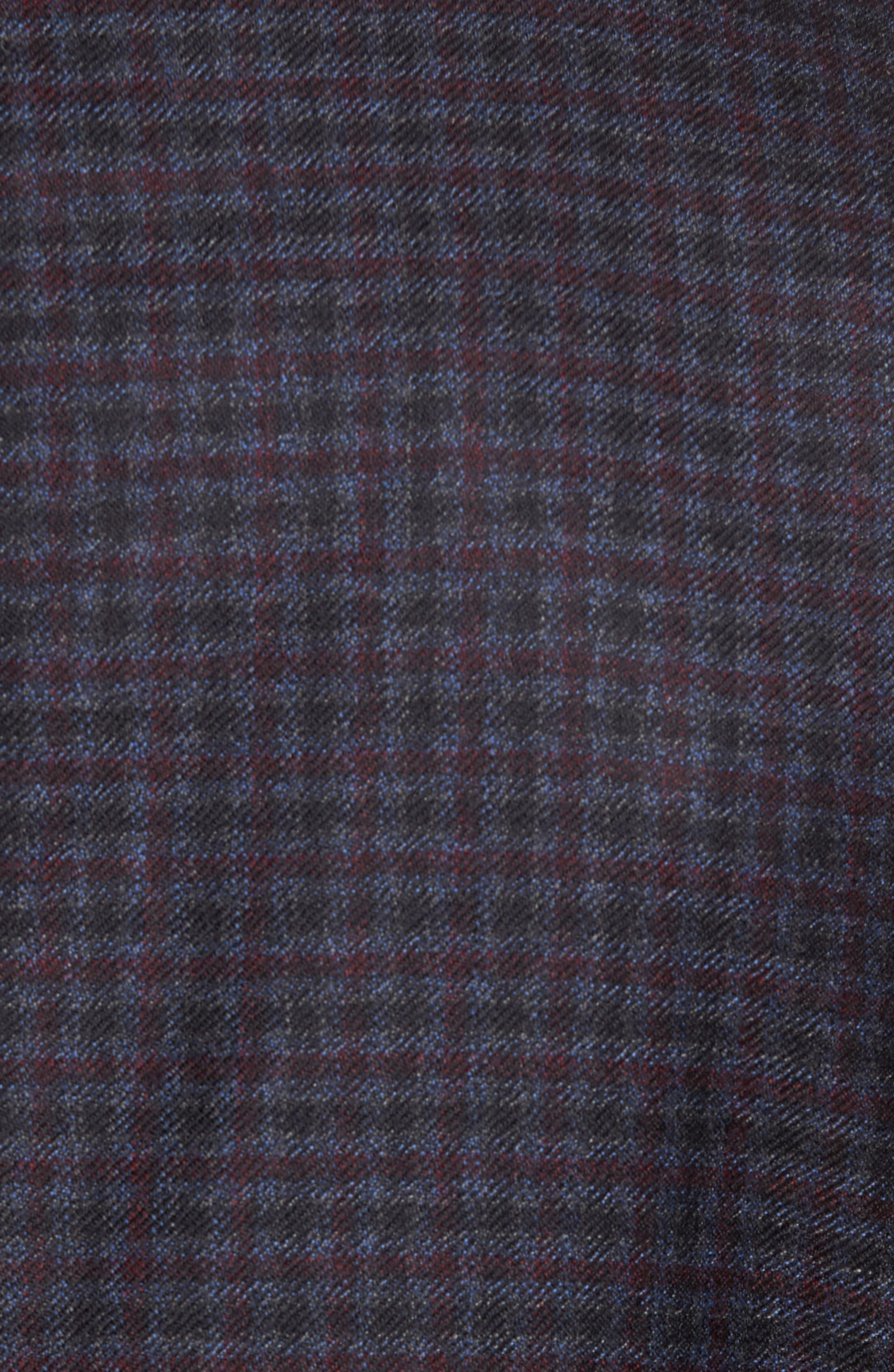 Trim Fit Wool Sport Coat,                             Alternate thumbnail 6, color,                             050