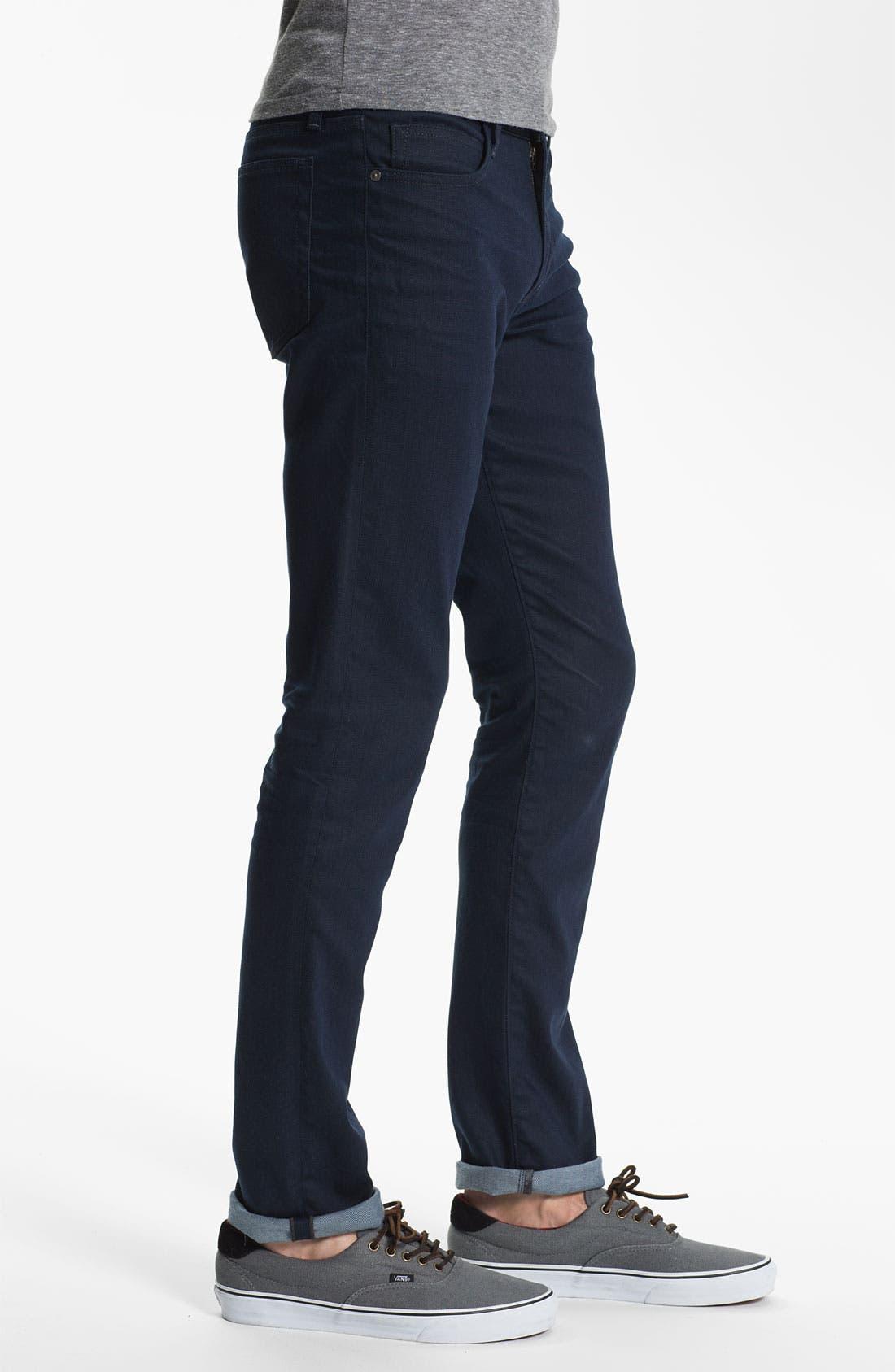 Super Slim Straight Leg Jeans,                             Alternate thumbnail 2, color,                             020