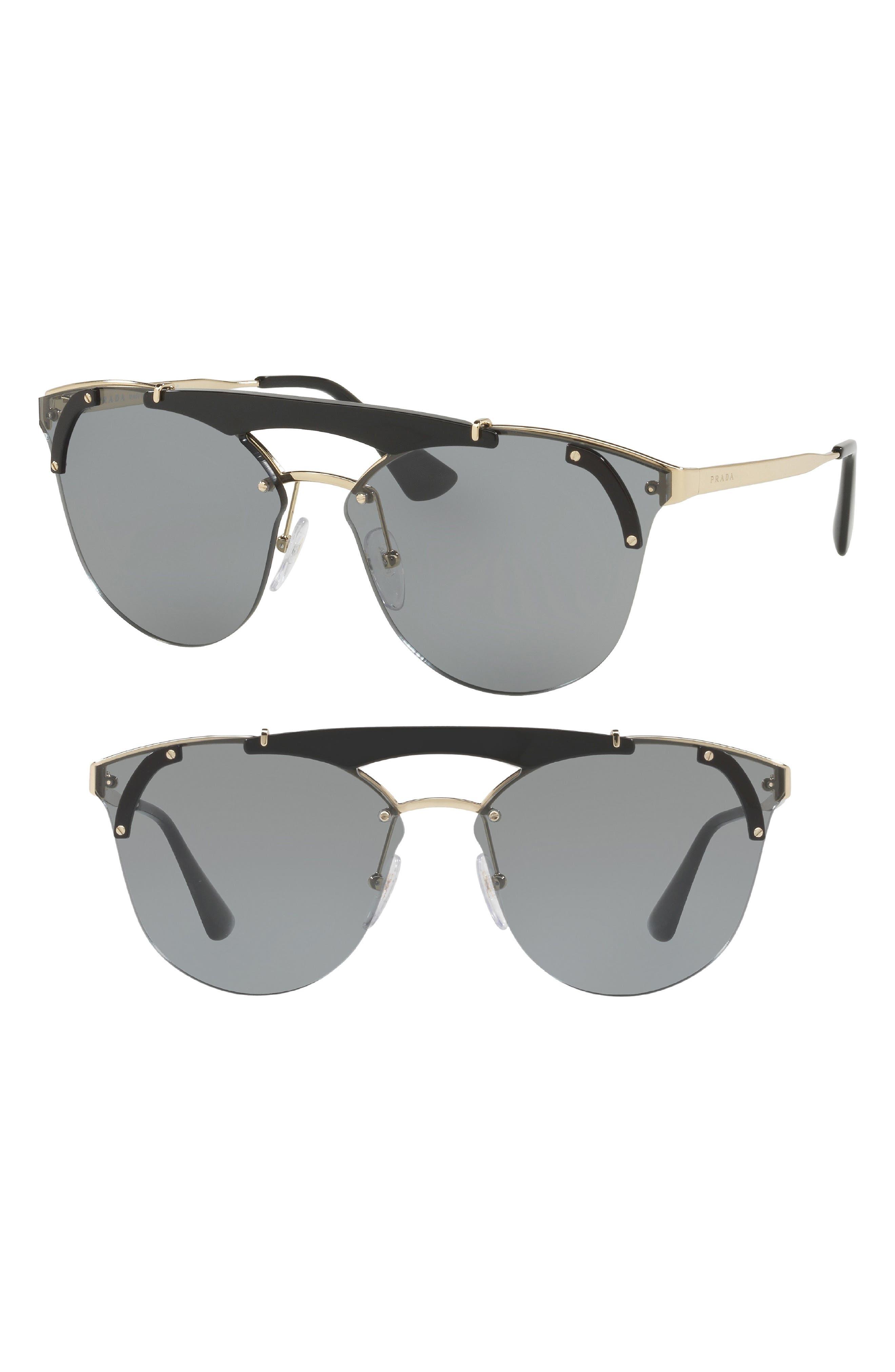 53mm Round Sunglasses,                             Alternate thumbnail 2, color,                             710