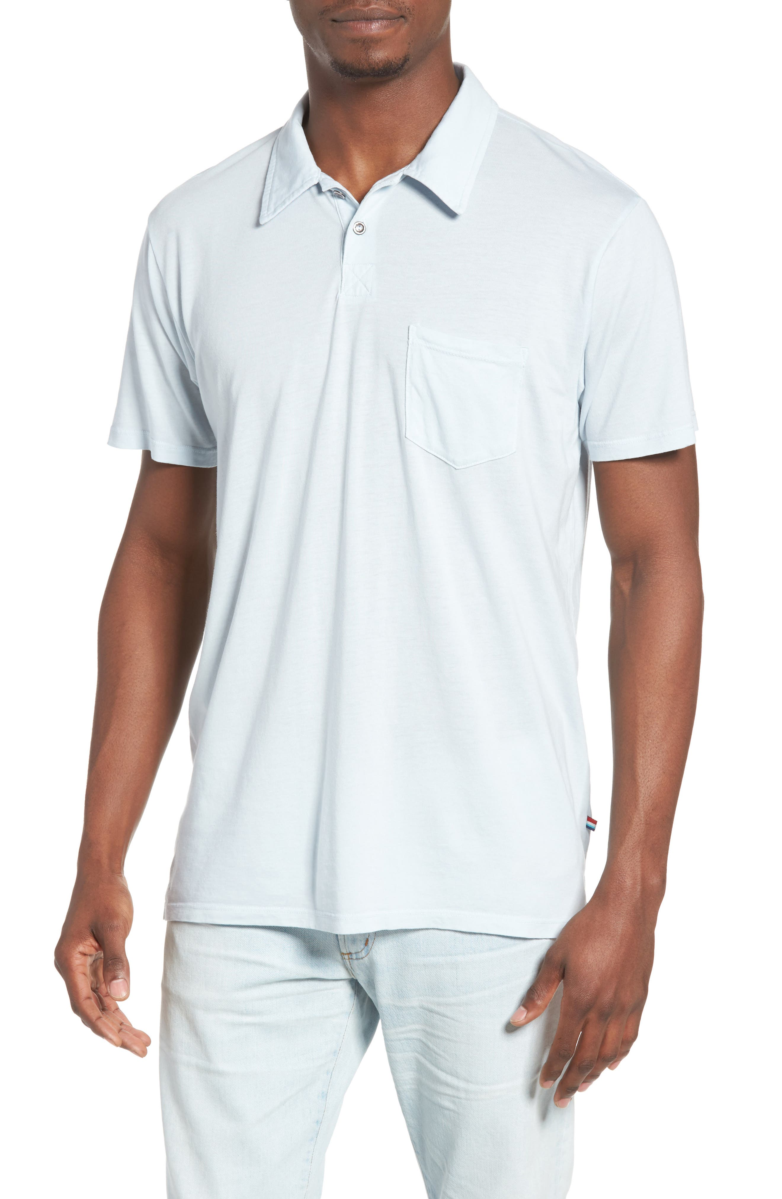 Essential Jersey Polo,                             Main thumbnail 4, color,
