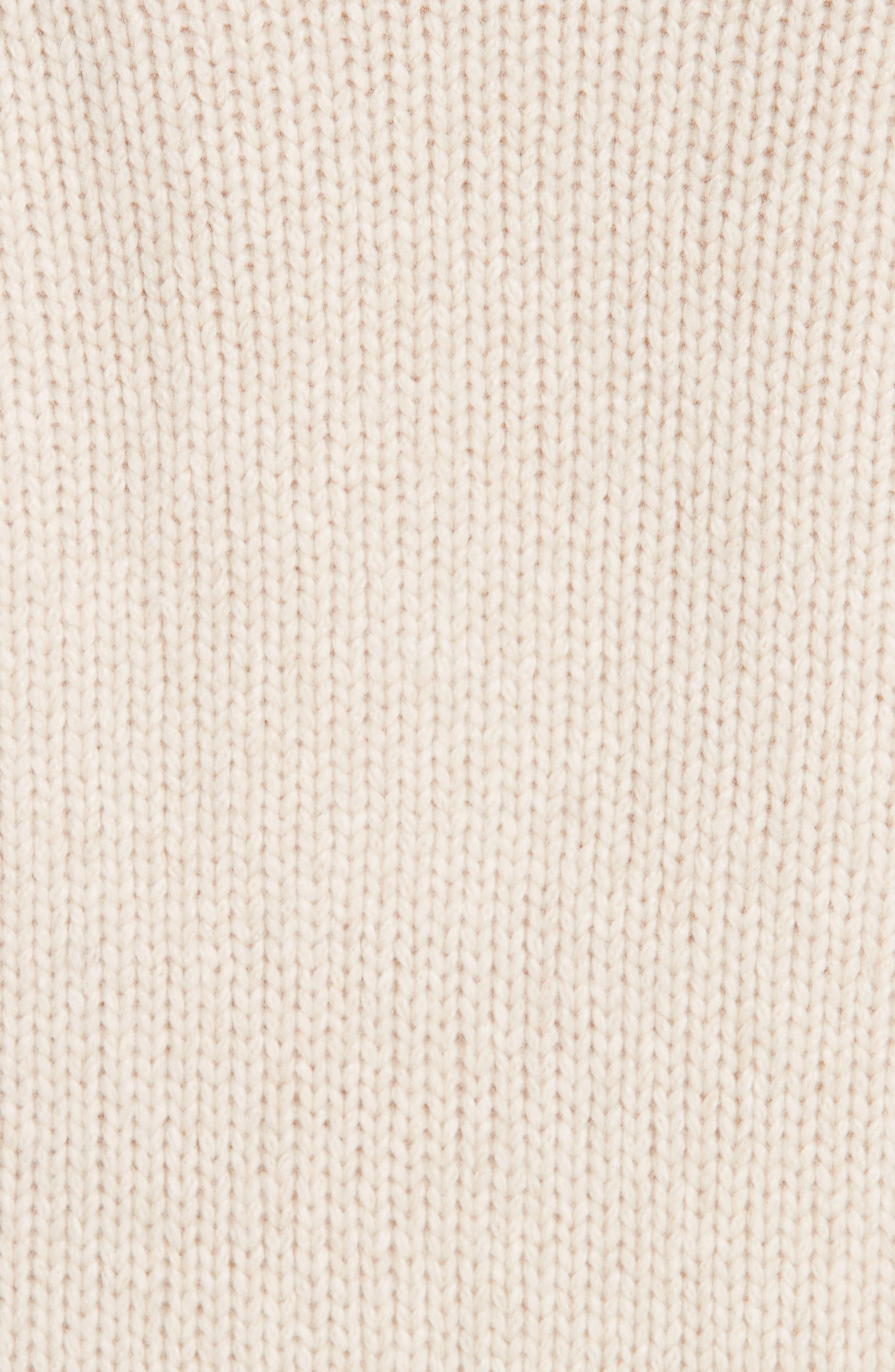 V-Neck Cashmere Sweater,                             Alternate thumbnail 5, color,                             264