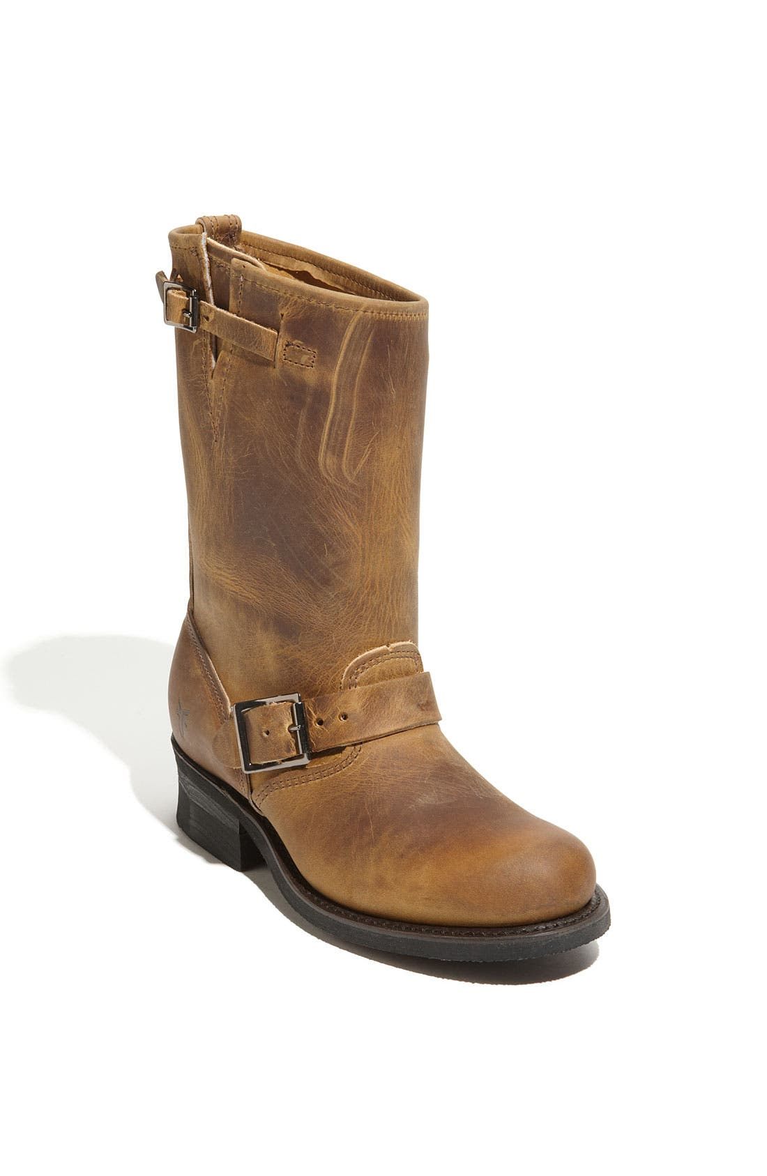 Frye Sale Womens Shoes Cut Engineer Safety Boots Iron Suede Leather Soft Brown 12r Boot