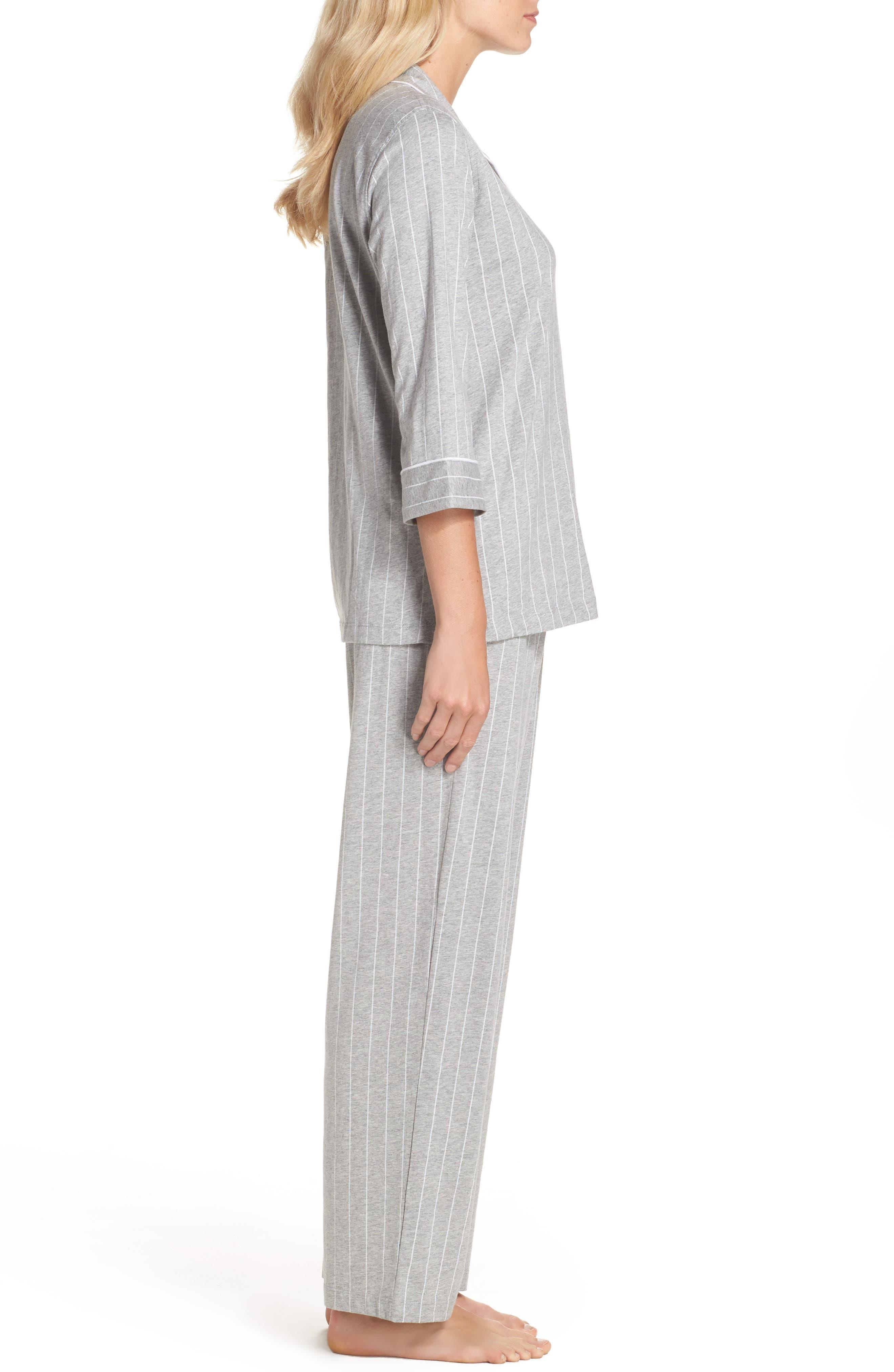 Notch Collar Pajamas,                             Alternate thumbnail 3, color,                             025