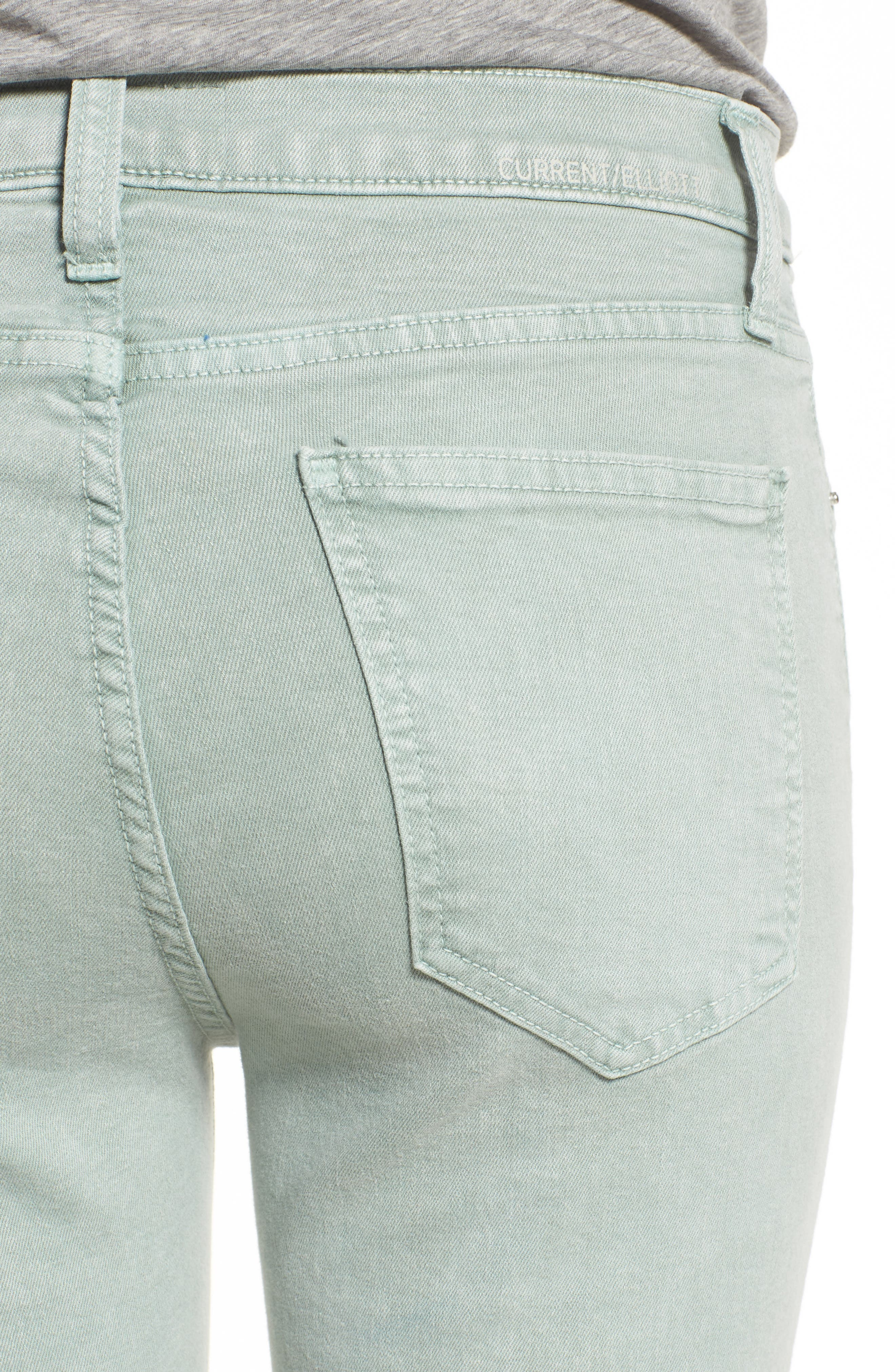 The High Waist Ankle Skinny Jeans,                             Alternate thumbnail 4, color,