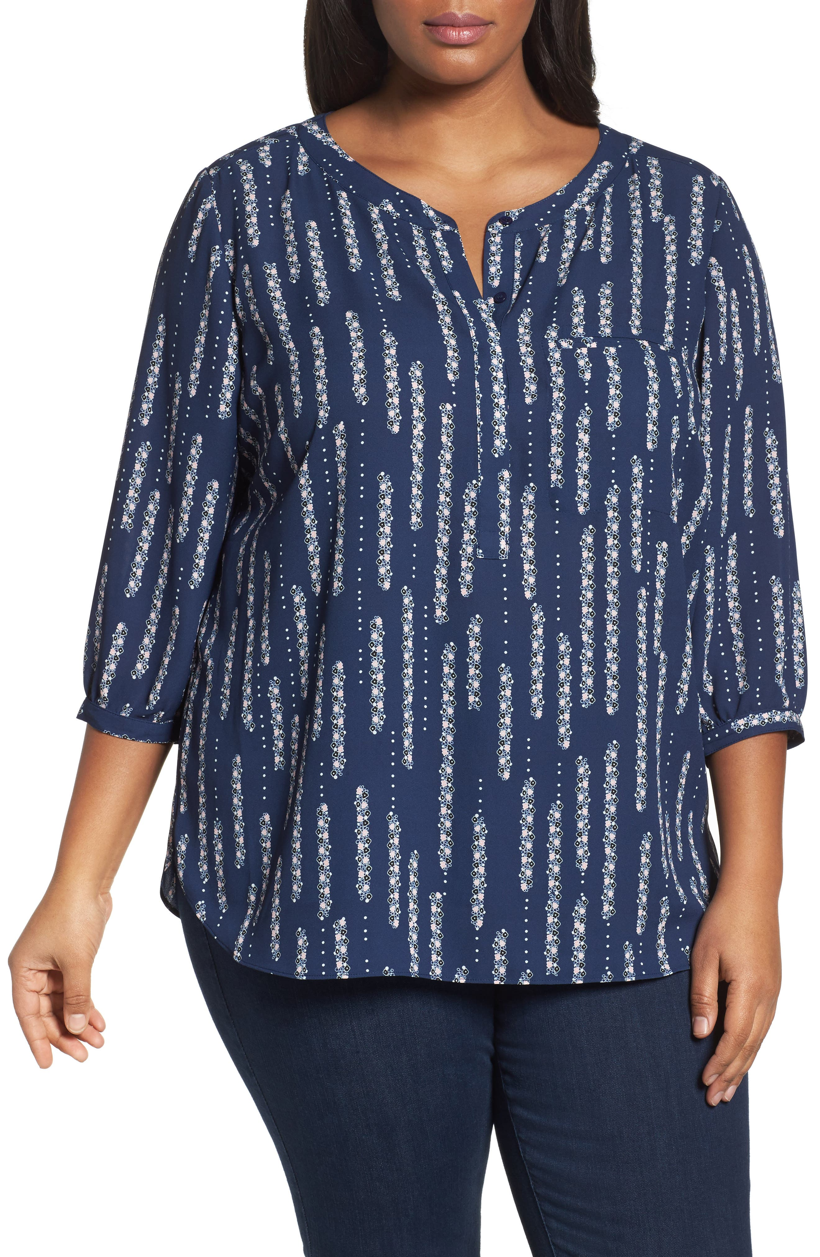 Henley Top,                             Alternate thumbnail 146, color,