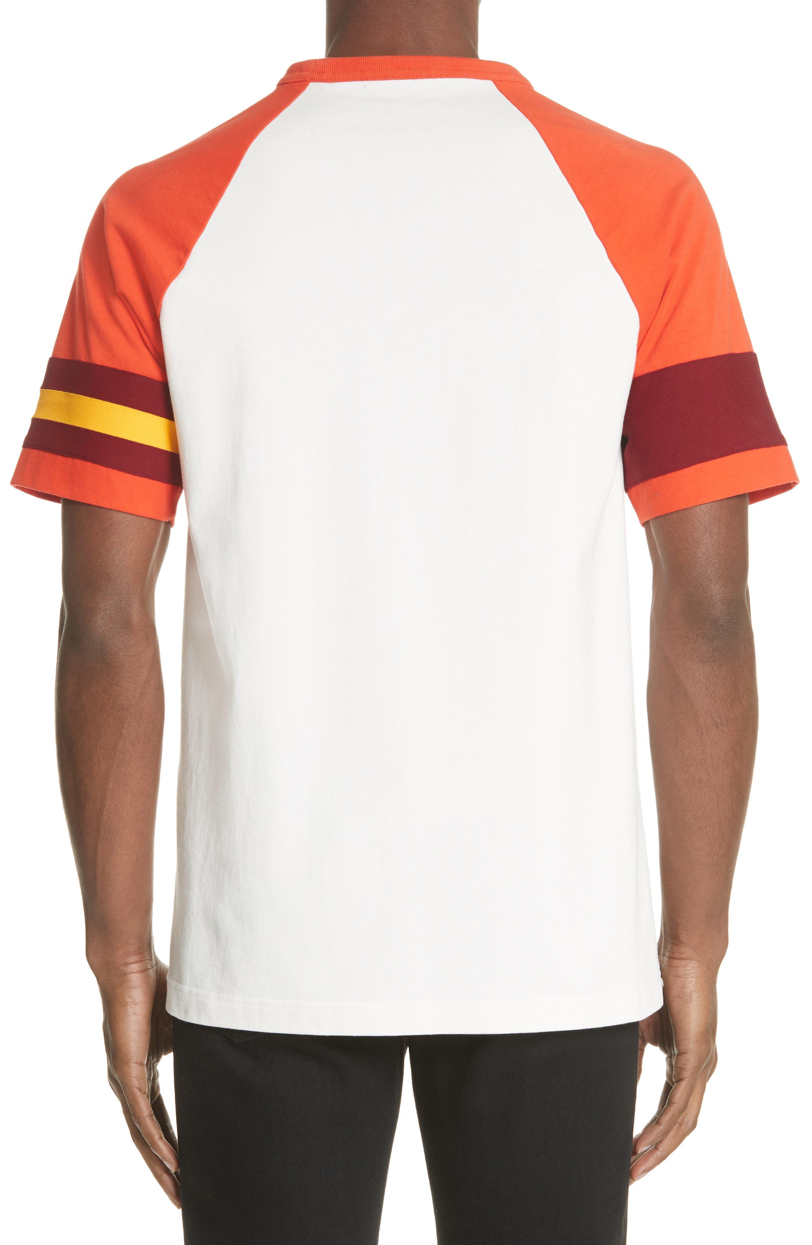 Jersey Varsity T-Shirt,                             Alternate thumbnail 2, color,                             WHITE