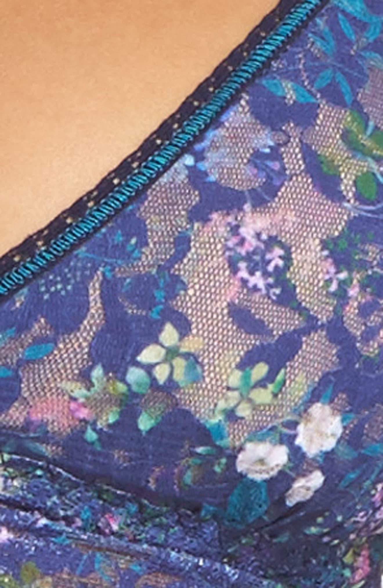 Floret Padded Bralette,                             Alternate thumbnail 4, color,                             400