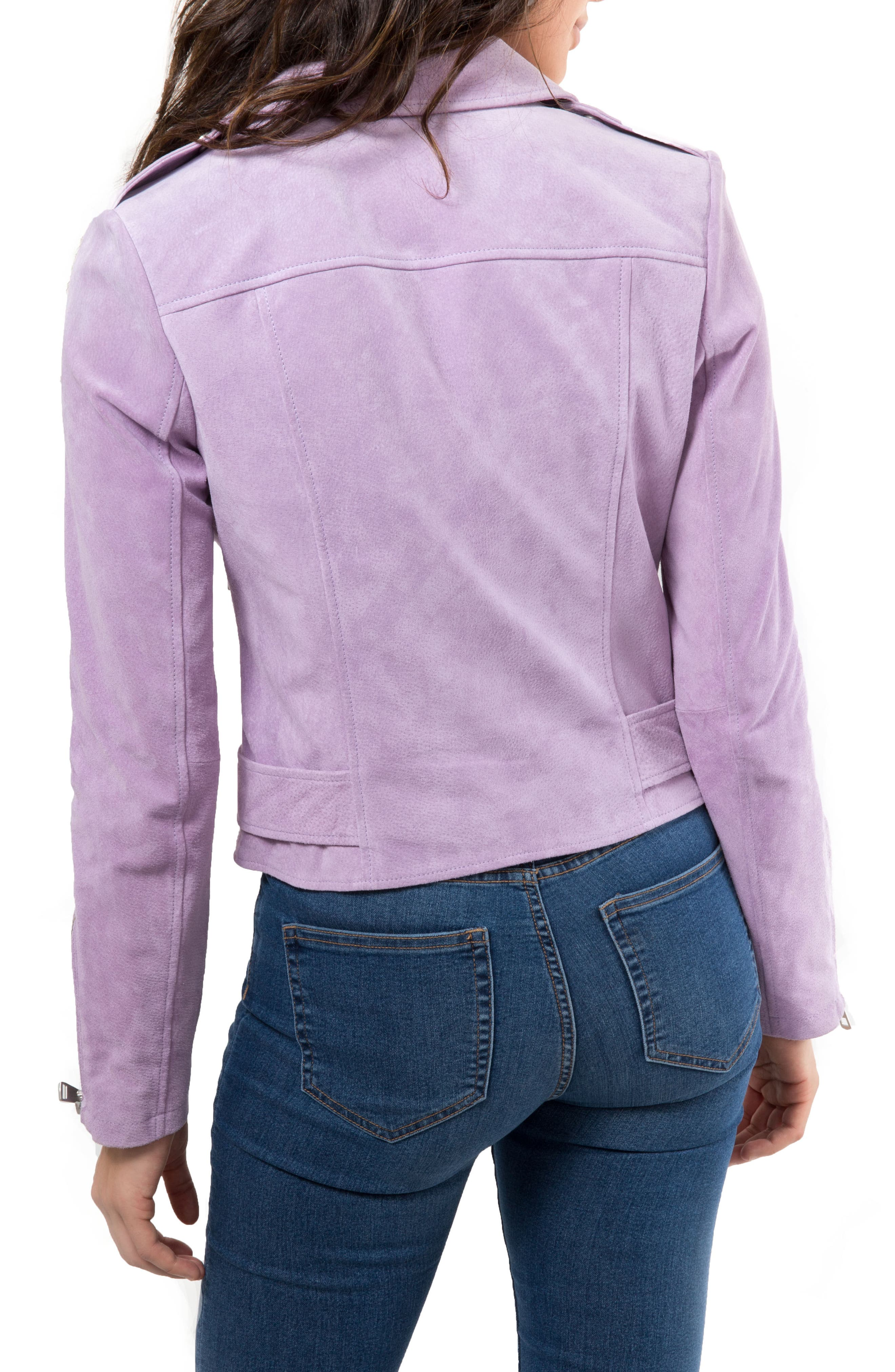 NYC  Suede Jacket,                             Alternate thumbnail 15, color,