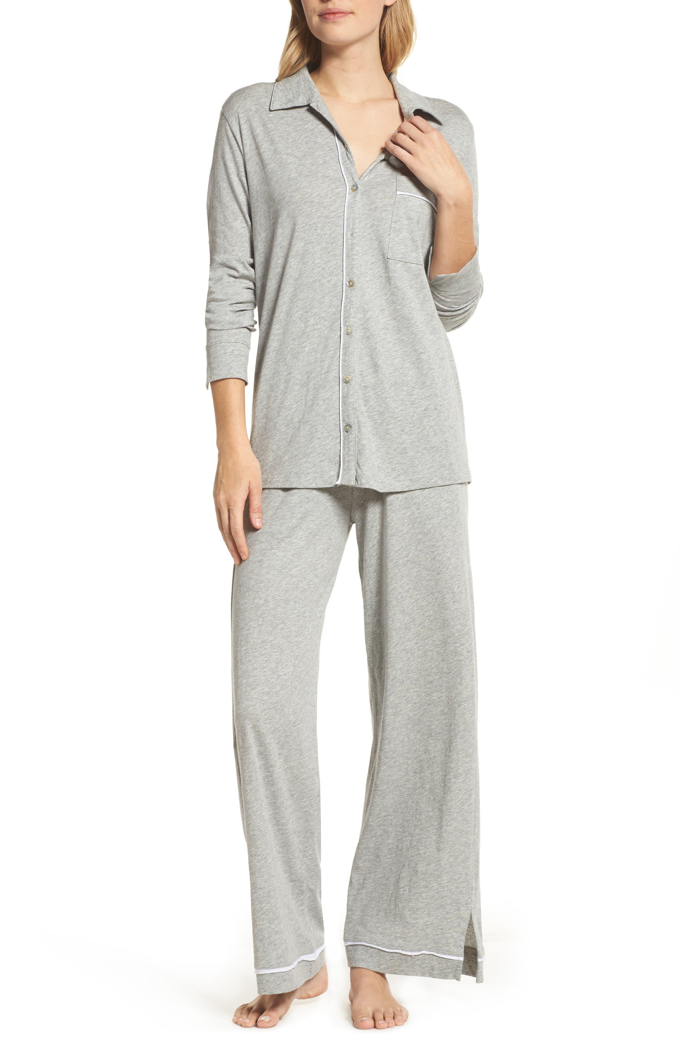 Penelope Pima Cotton Pajamas,                             Main thumbnail 1, color,                             020