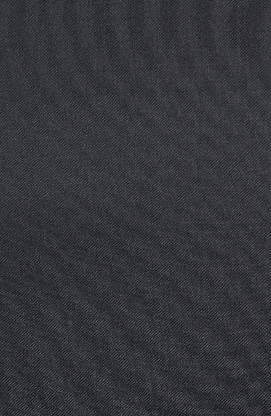 Russell Classic Fit Loro Piana Wool Tuxedo,                             Alternate thumbnail 9, color,                             BLACK