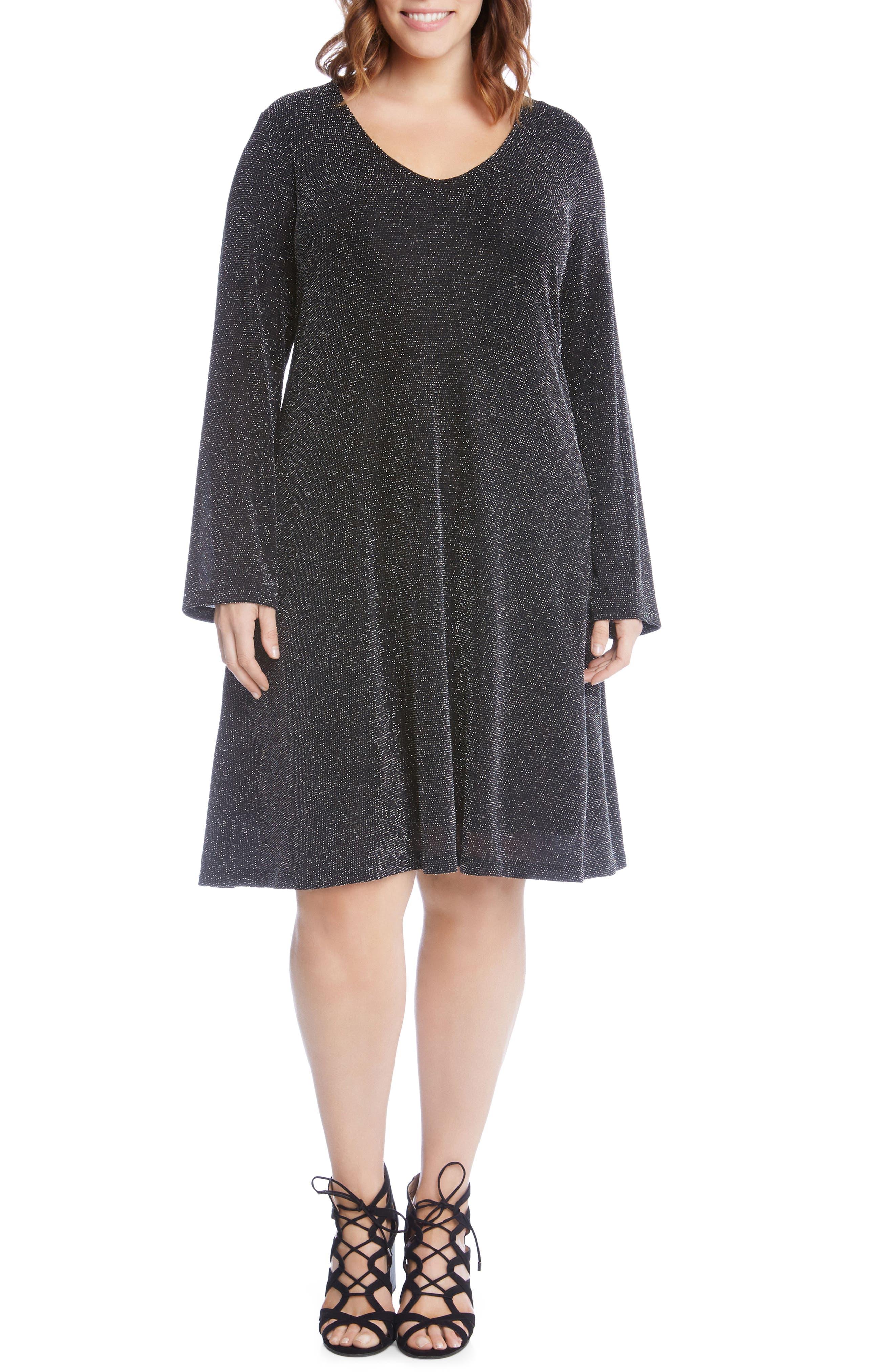 Taylor Sparkle Knit Dress,                         Main,                         color, 044