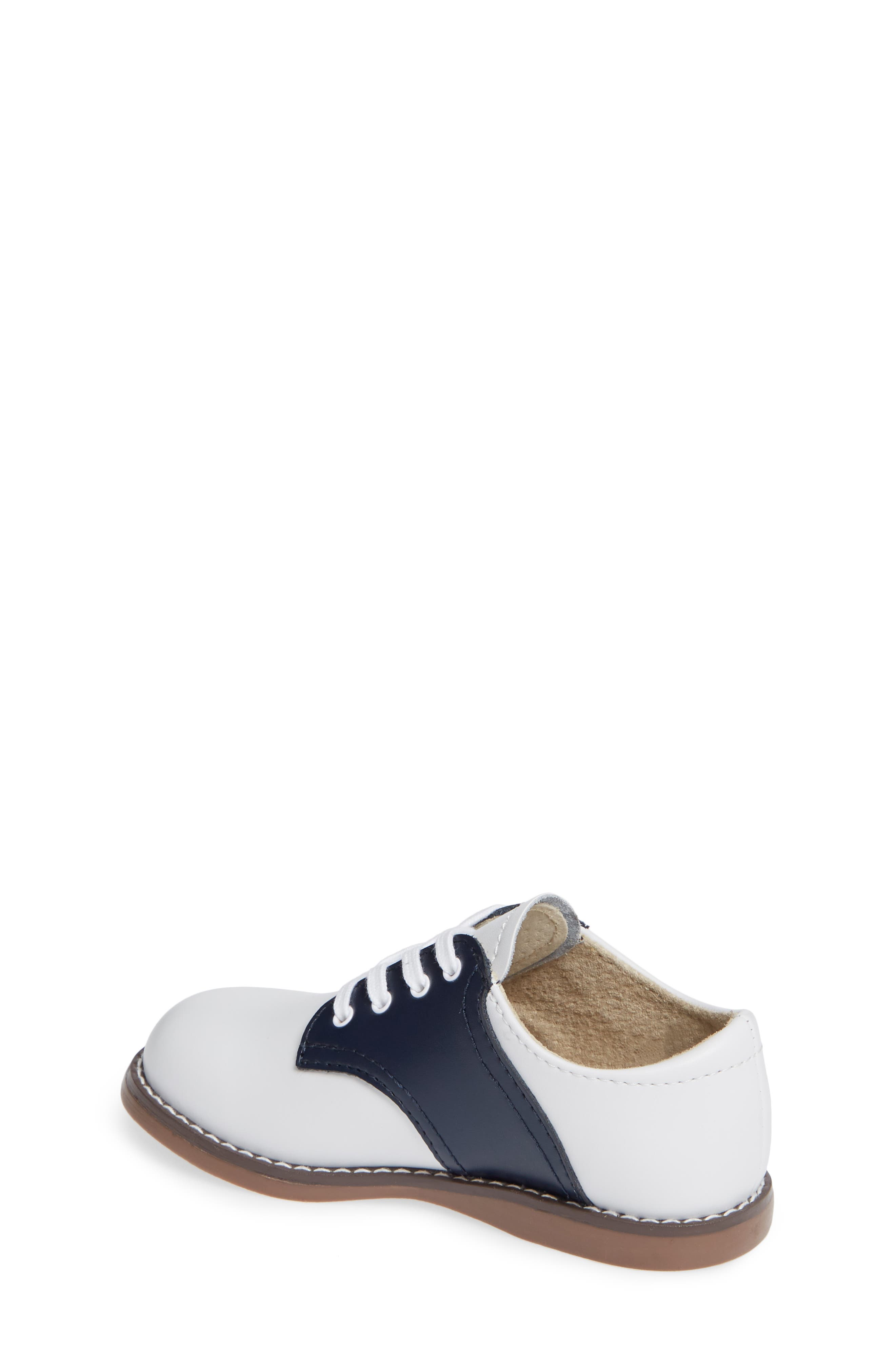FOOTMATES,                             Cheer Oxford,                             Alternate thumbnail 2, color,                             WHITE/ NAVY