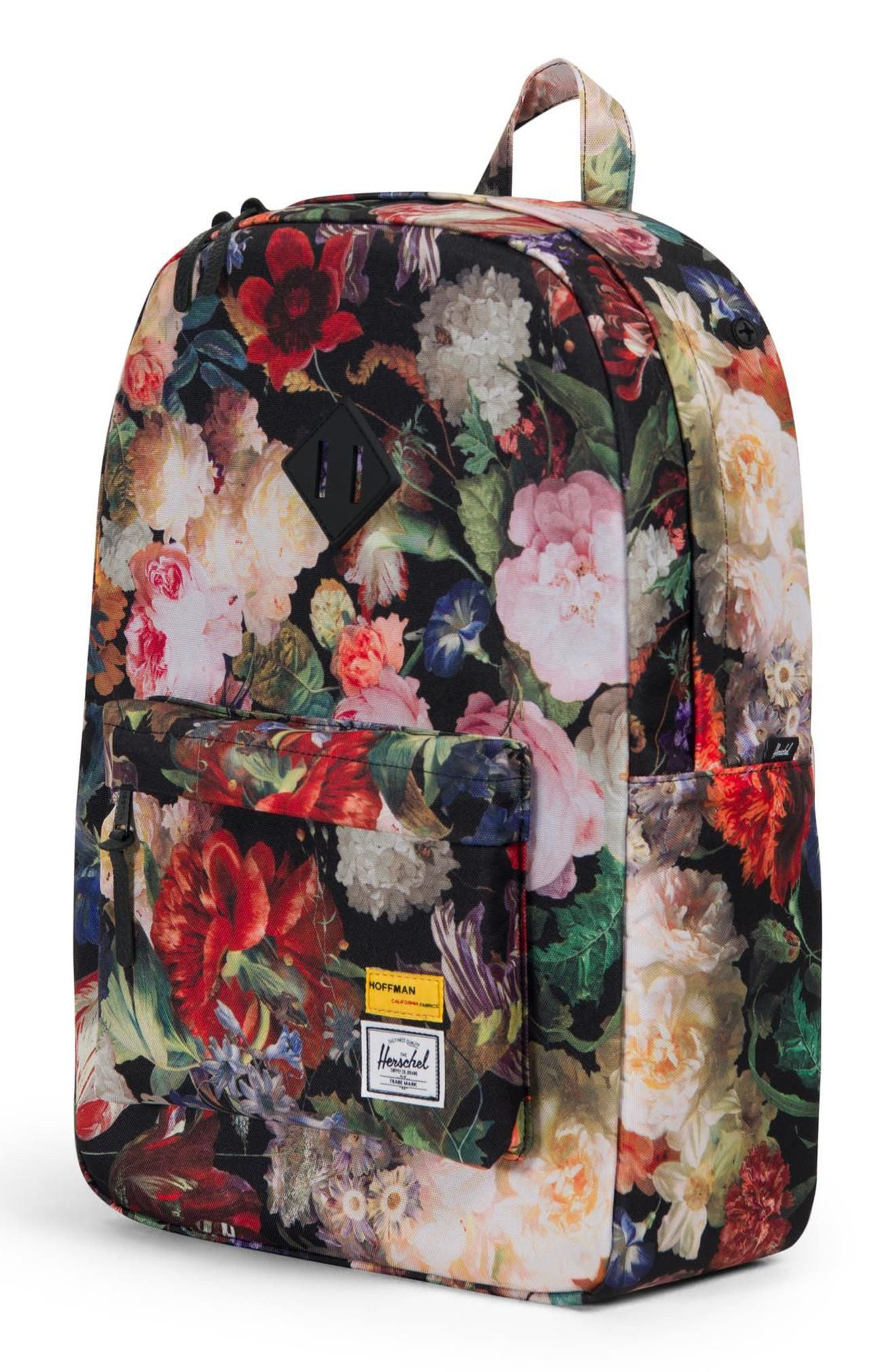 Heritage Hoffman Backpack,                             Alternate thumbnail 3, color,                             FALL FLORAL