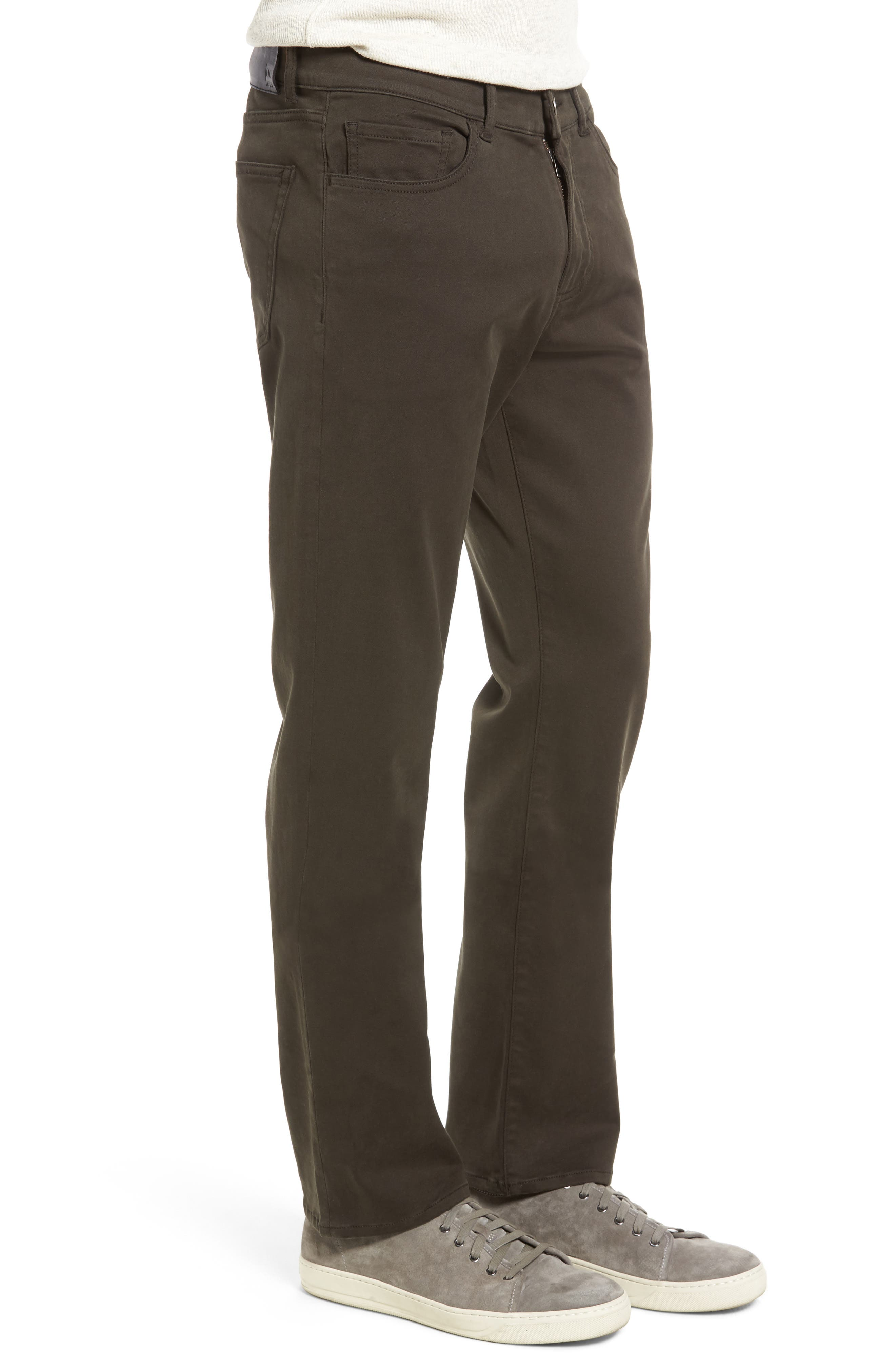 Russell Slim Fit Sateen Twill Pants,                             Alternate thumbnail 28, color,