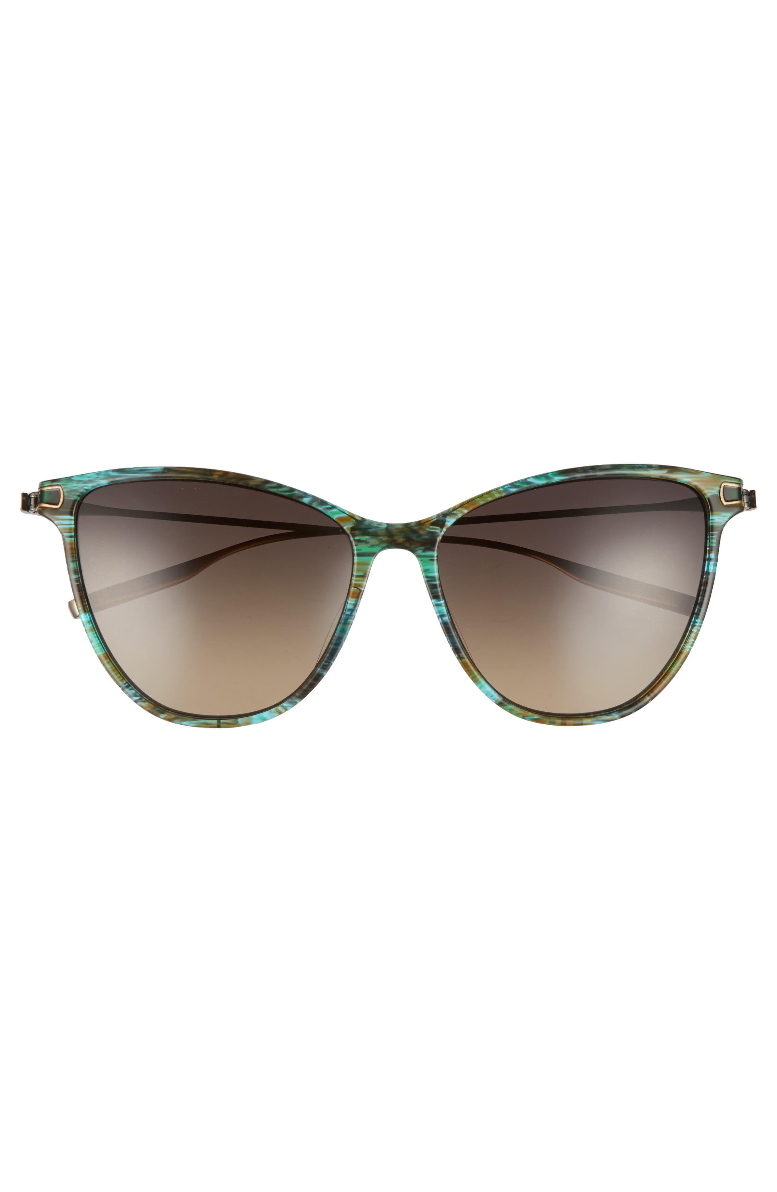 SALT.,                             Nia 58mm Polarized Cat Eye Sunglasses,                             Alternate thumbnail 3, color,                             300