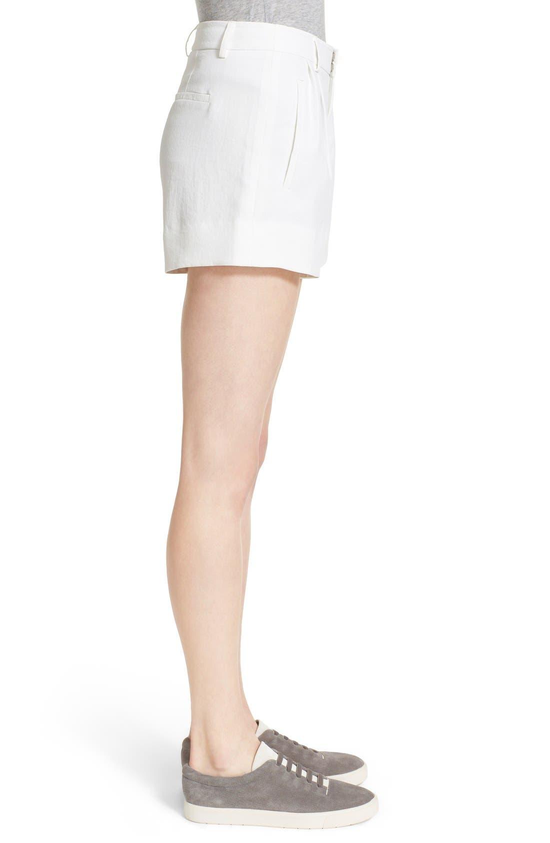 Trouser Shorts,                             Alternate thumbnail 4, color,                             101
