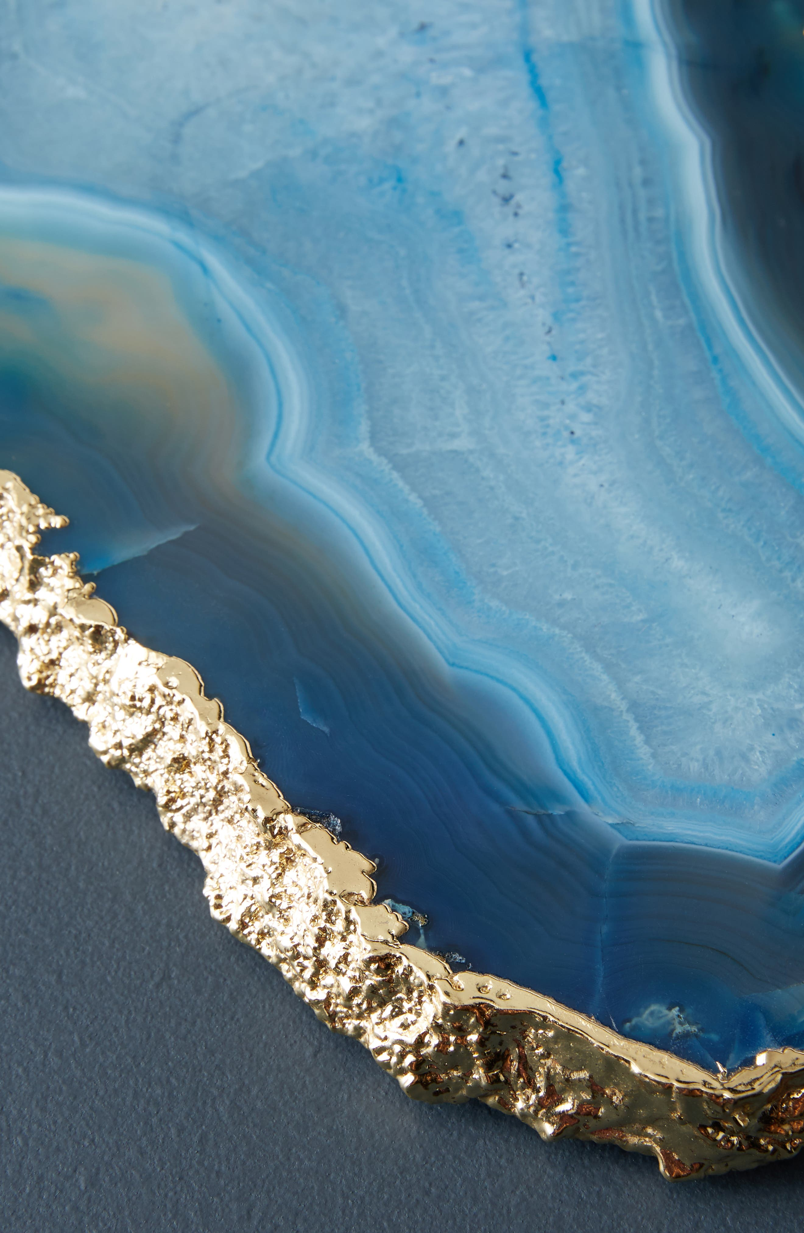 Agate Cheese Board,                             Alternate thumbnail 3, color,                             BLUE