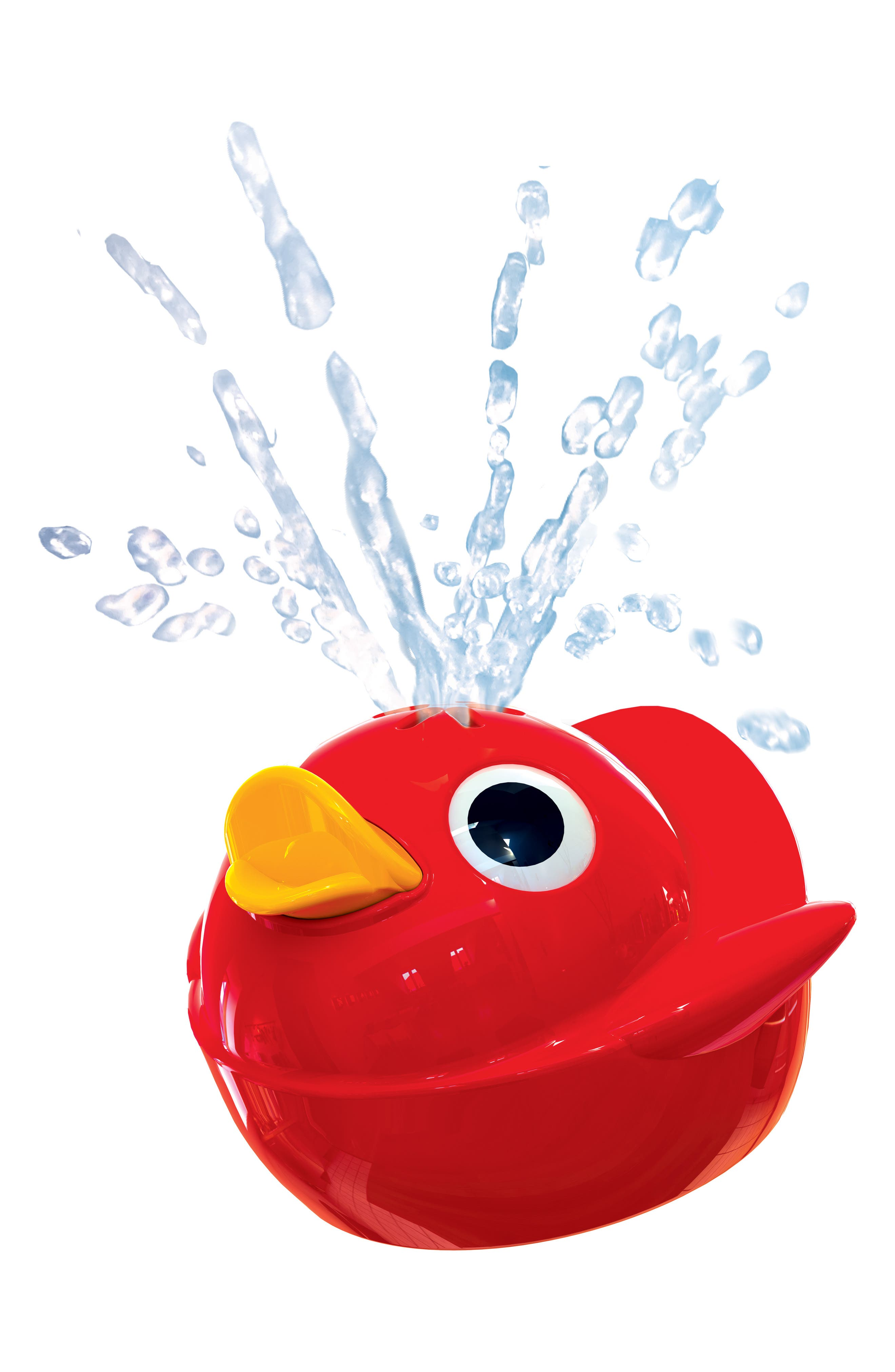 Musical Duck Race Bath Toy,                             Alternate thumbnail 4, color,                             RED