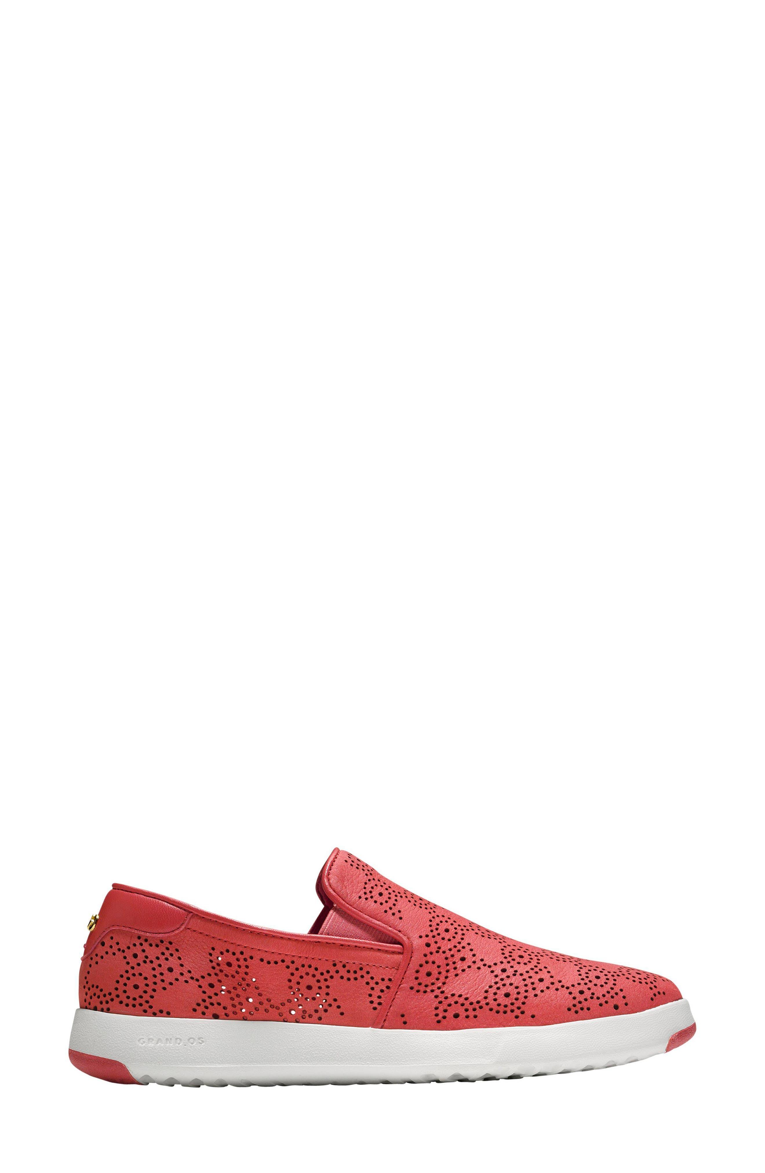GrandPro Perforated Slip-On Sneaker,                             Alternate thumbnail 6, color,
