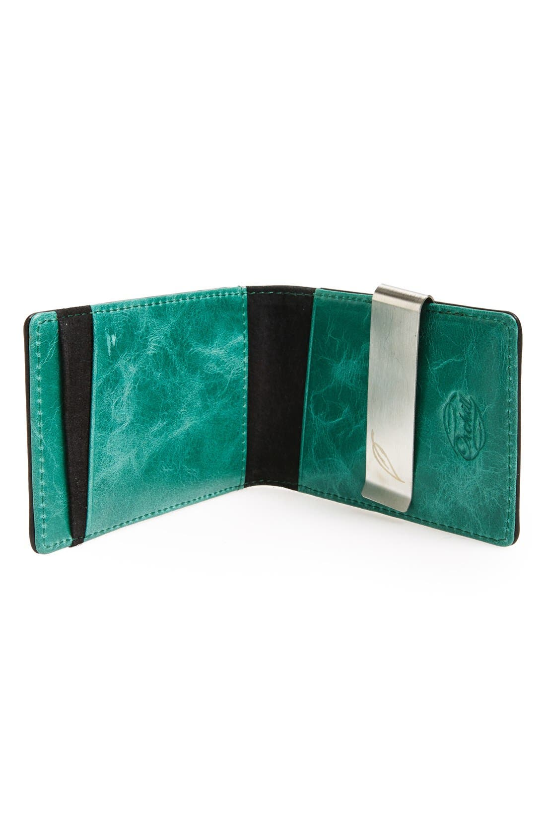 'Concord' Money Clip Wallet,                             Alternate thumbnail 3, color,                             001