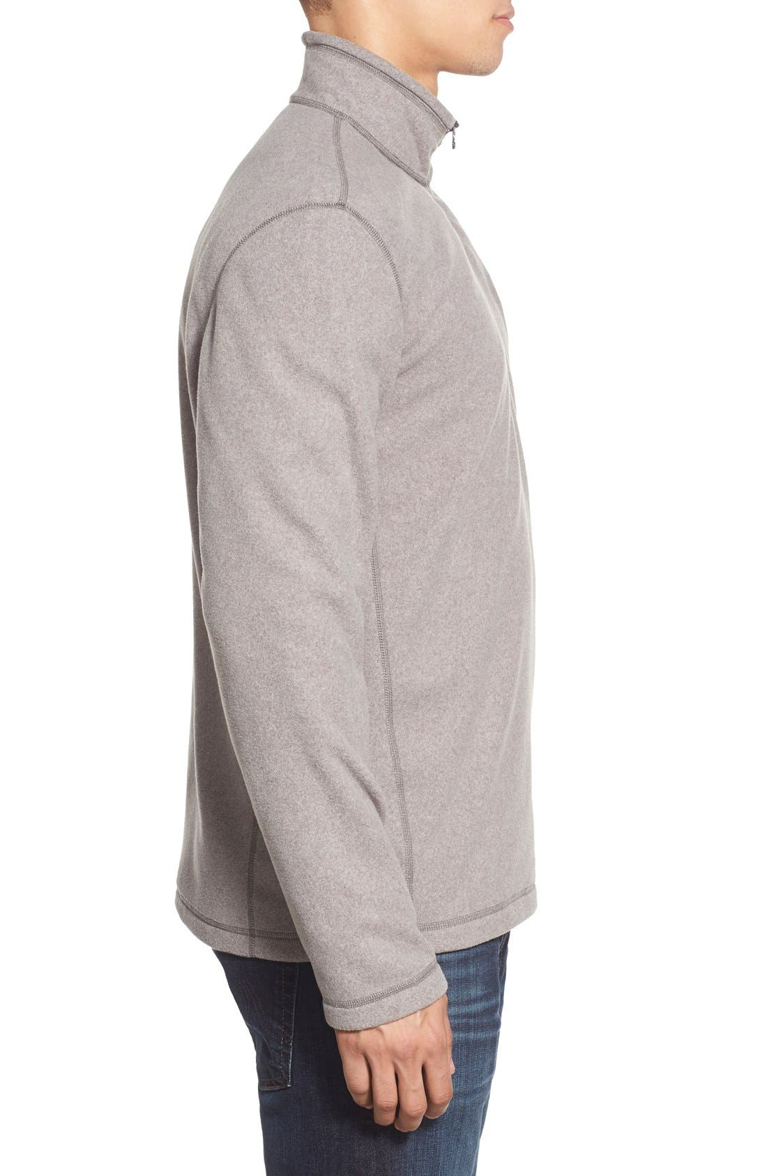 'TKA 100 Glacier' Quarter Zip Fleece Pullover,                             Alternate thumbnail 111, color,