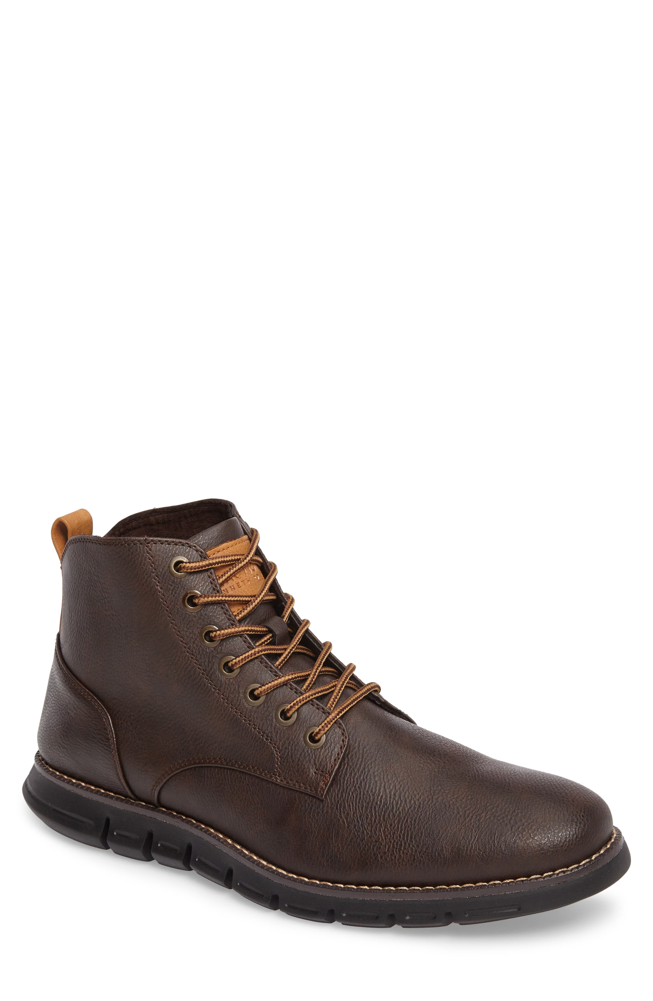 Kenneth Cole Reaction Waterproof Plain Toe Boot, Main, color, 200