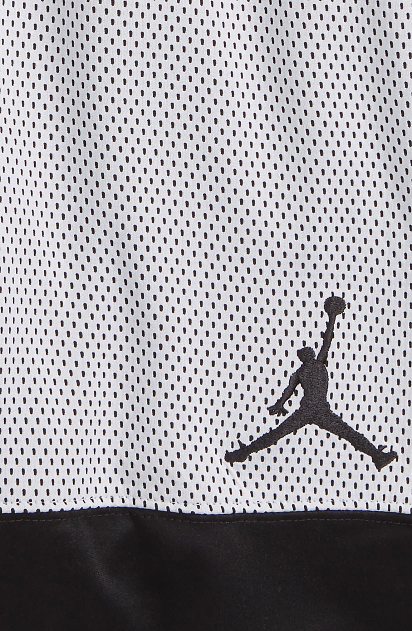 Jordan AJ 90s D2 Mesh Shorts,                             Alternate thumbnail 3, color,                             001