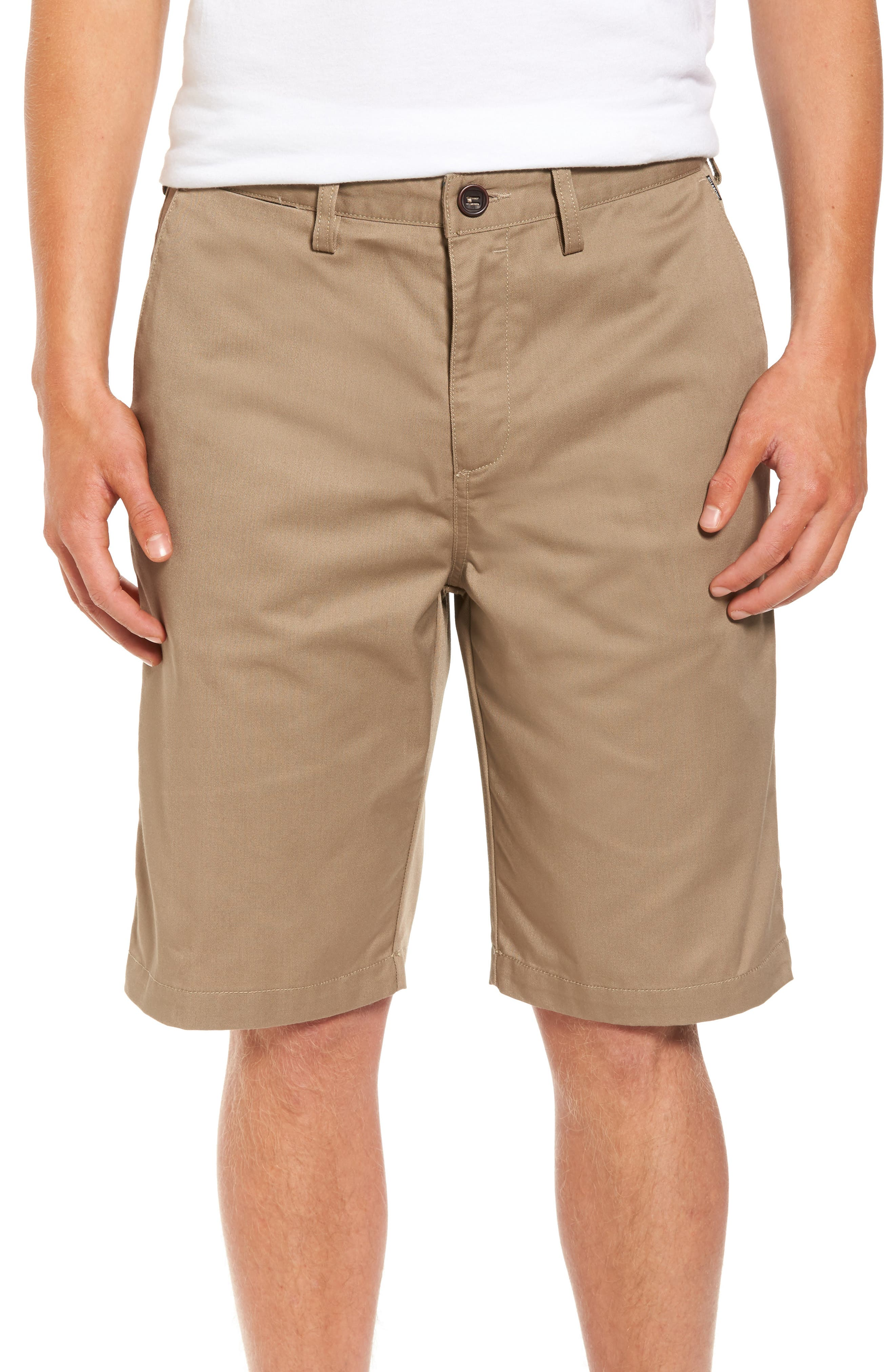 Carter Stretch Twill Shorts,                             Main thumbnail 2, color,