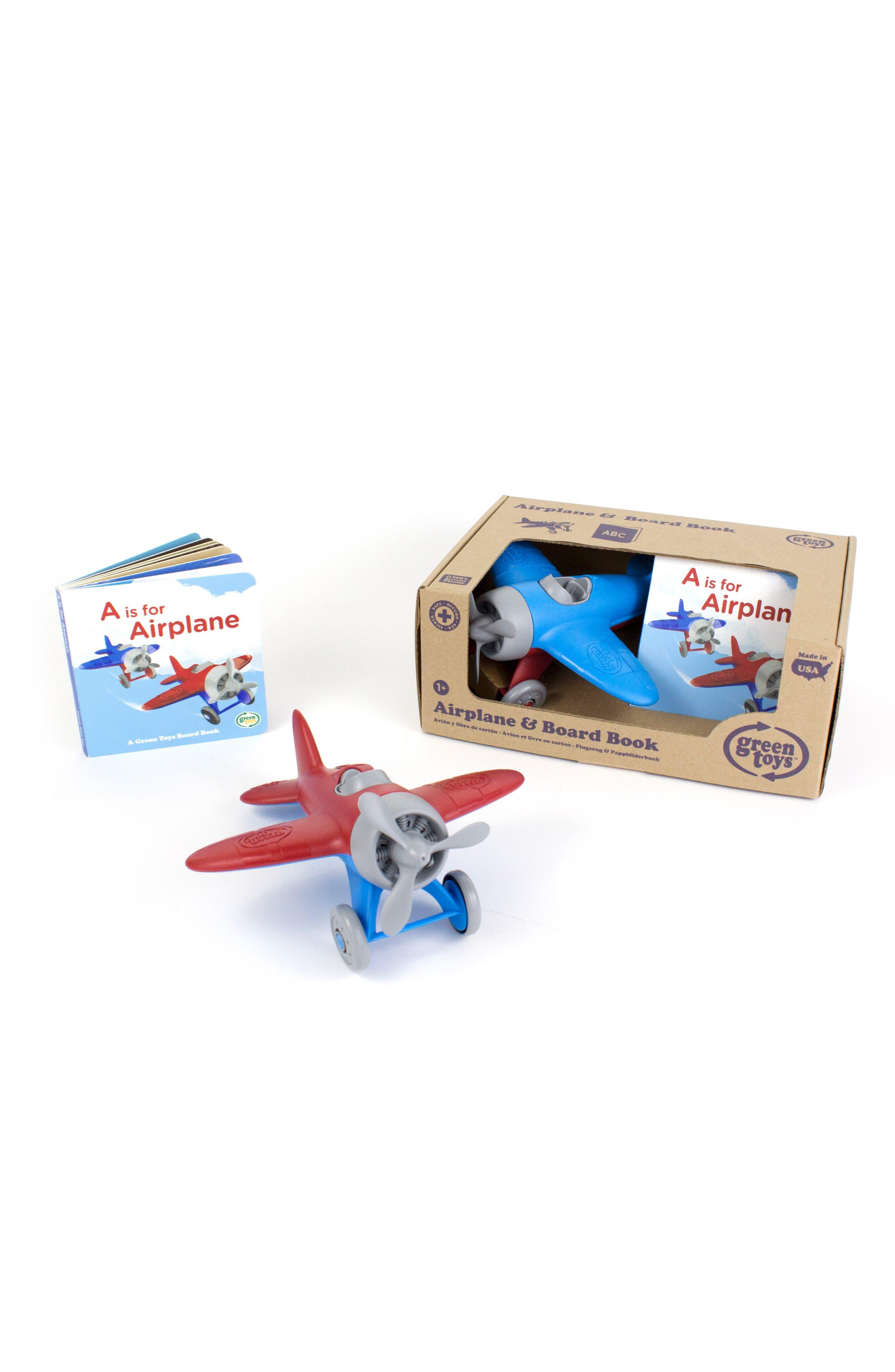 Airplane Toy & Alphabet Book Set,                             Alternate thumbnail 2, color,                             400