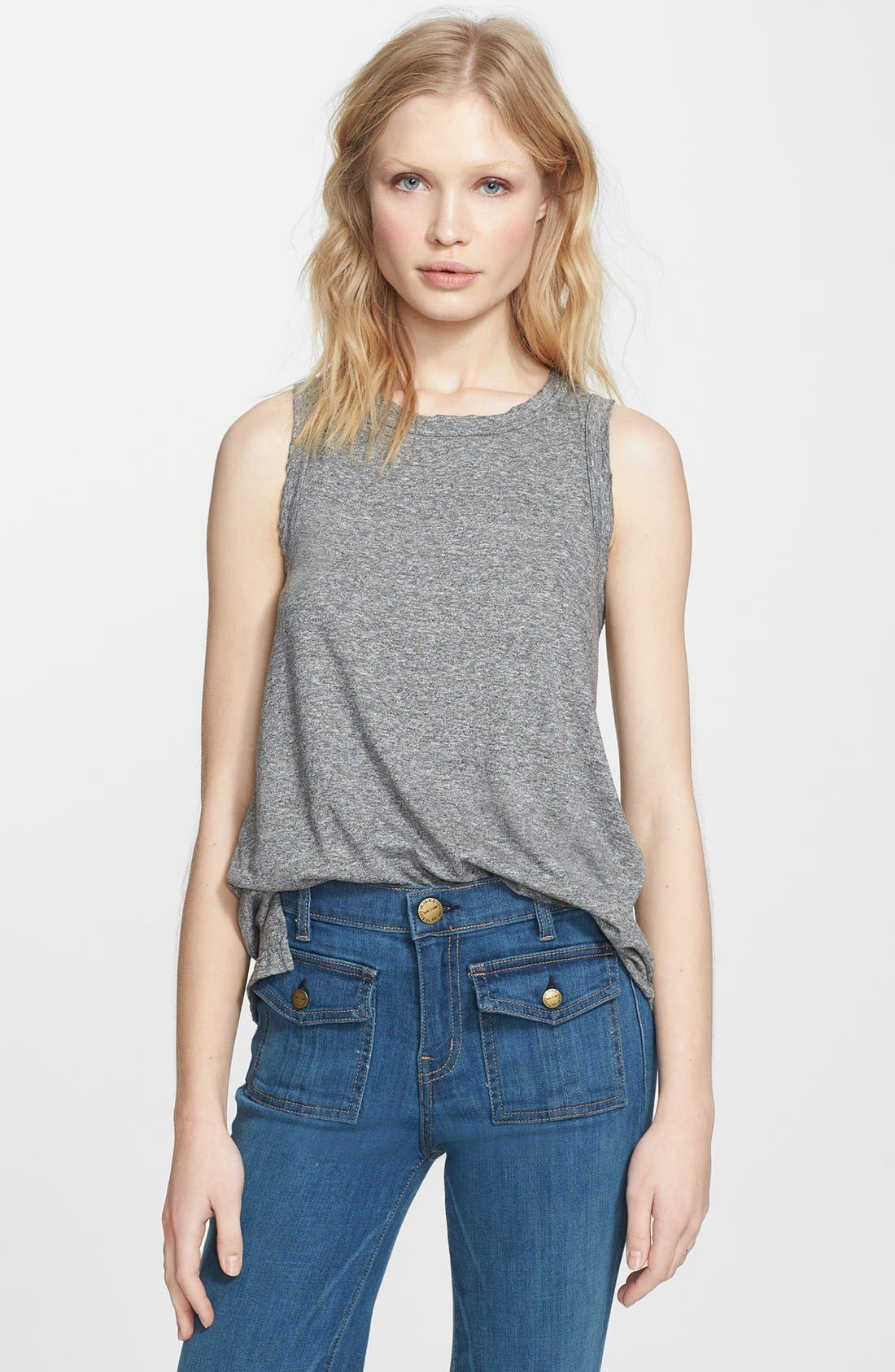 'The Muscle' Tee,                         Main,                         color, HEATHER GREY
