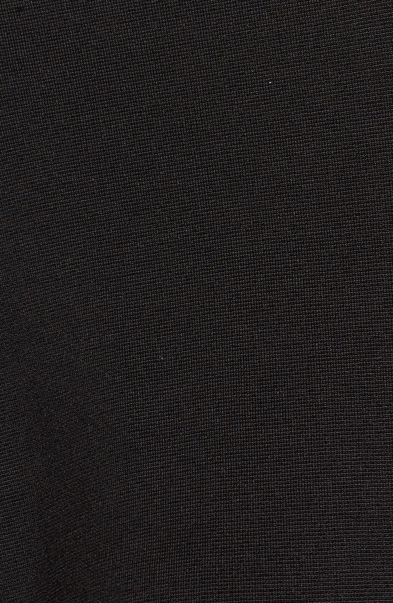 Mila Lace-Up Top,                             Alternate thumbnail 5, color,                             001