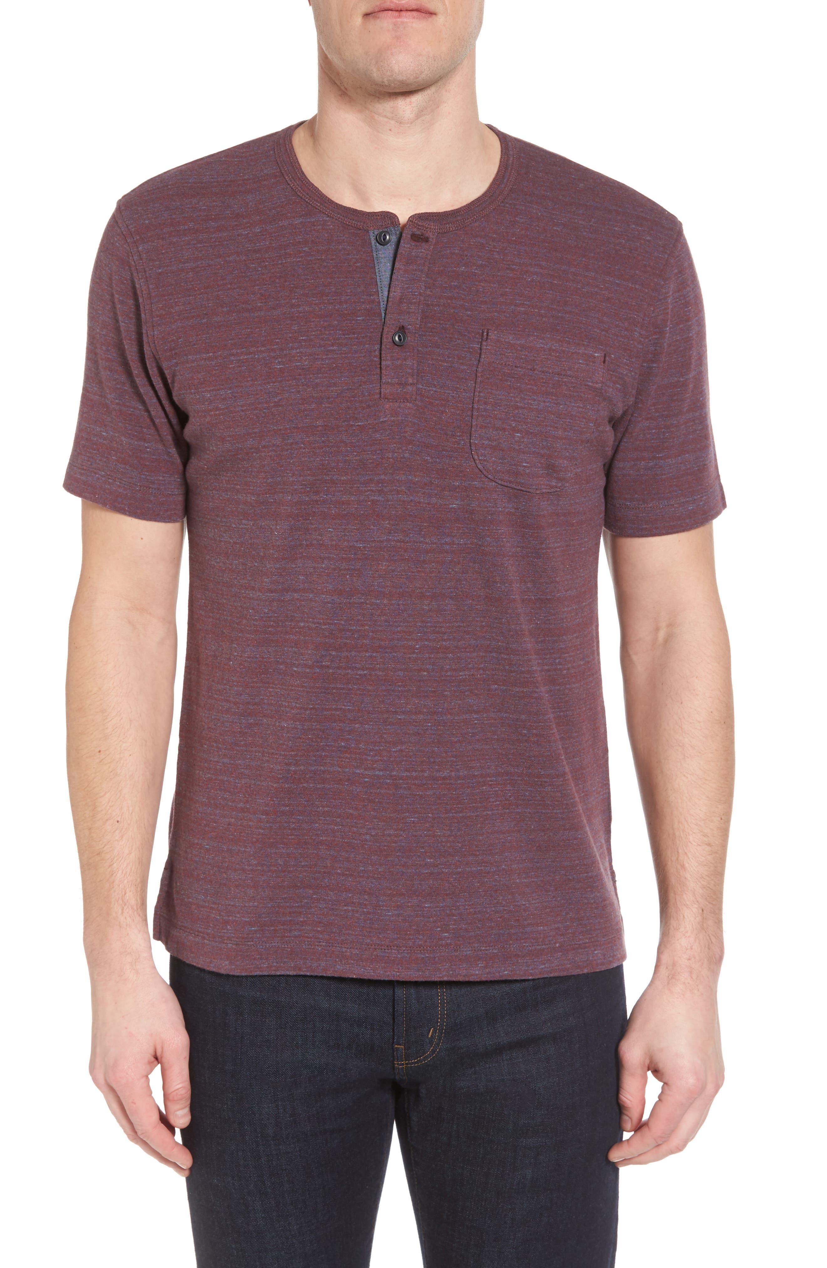 Short Sleeve Henley,                         Main,                         color, 050