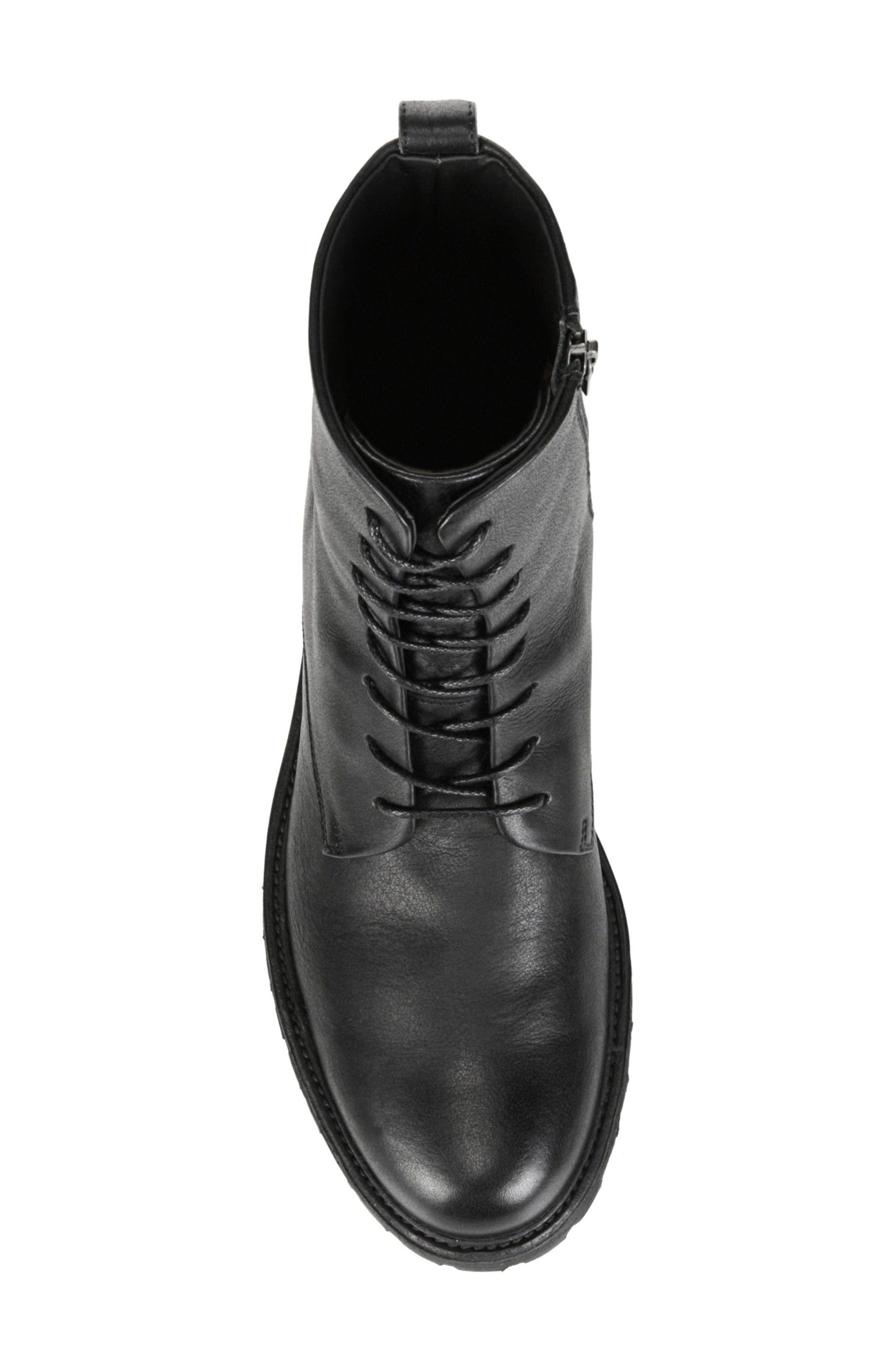 Brigade Plain Toe Boot,                             Alternate thumbnail 5, color,                             001