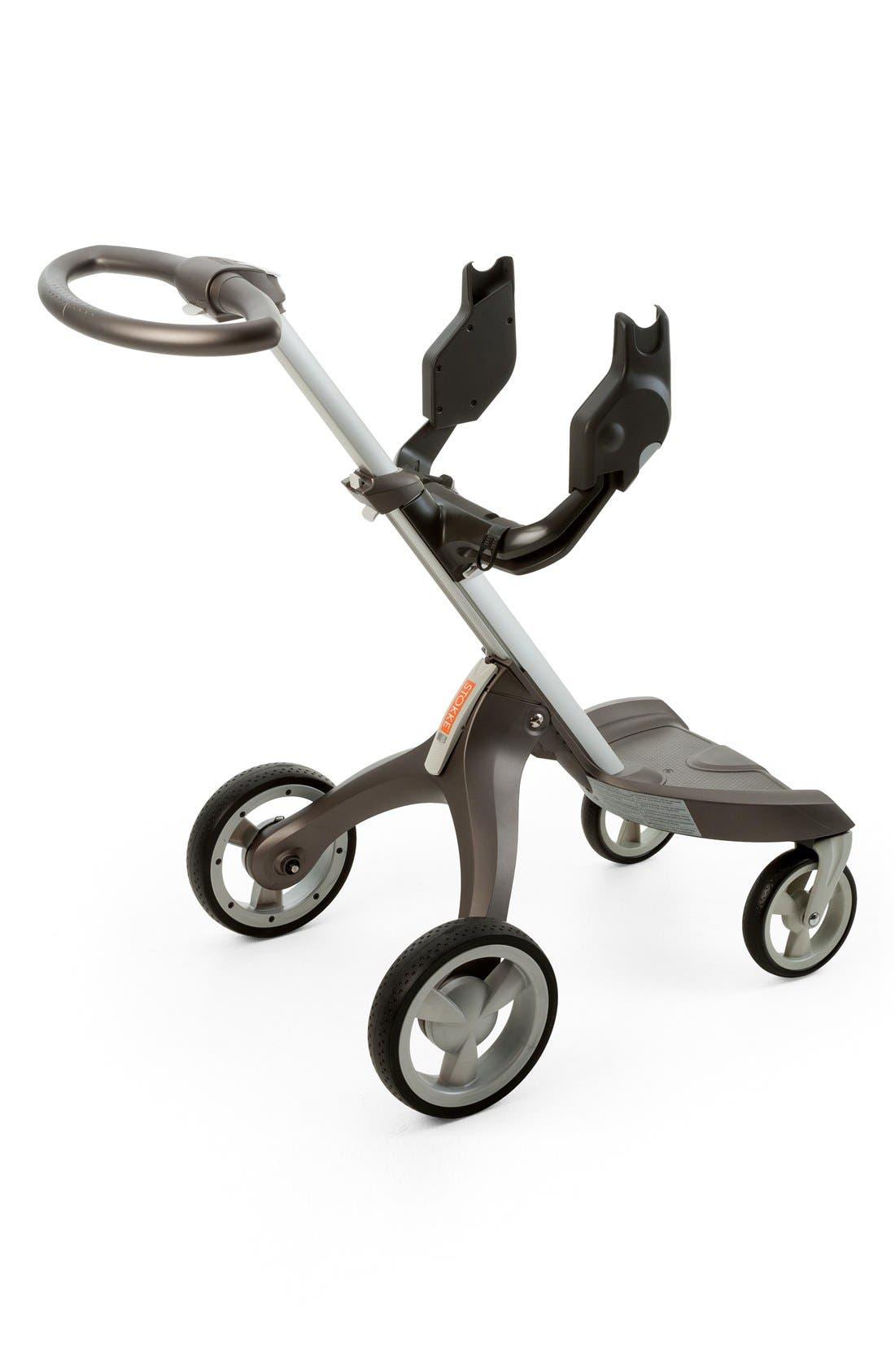 'Xplory<sup>®</sup>' & Stokke 'Scoot' Car Seat Adaptor for Maxi Cosi & Nuna,                             Alternate thumbnail 2, color,                             DARK GREY