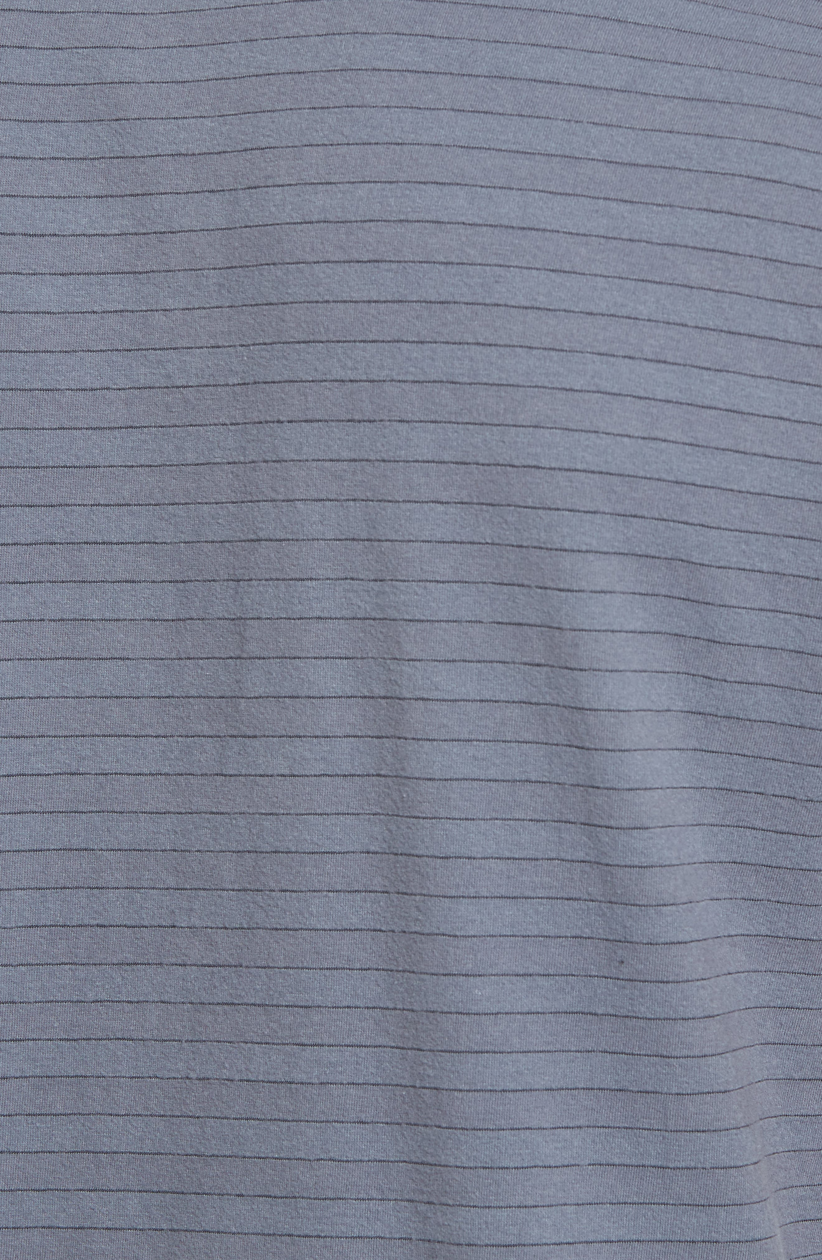 Shadow Stripe Jersey Pocket Polo,                             Alternate thumbnail 5, color,                             028