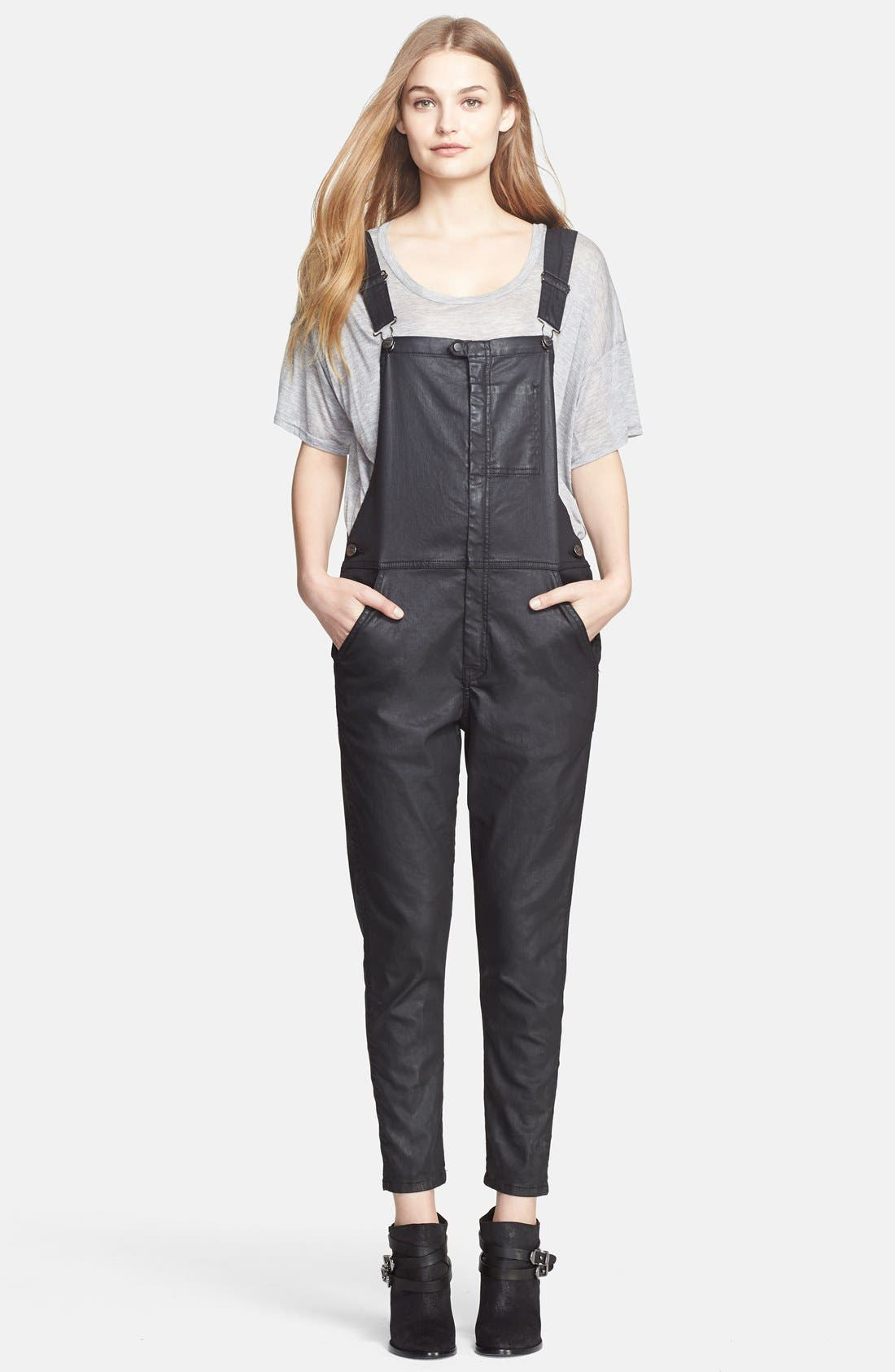 'The Ranch Hand' Coated Overalls,                             Main thumbnail 1, color,                             008