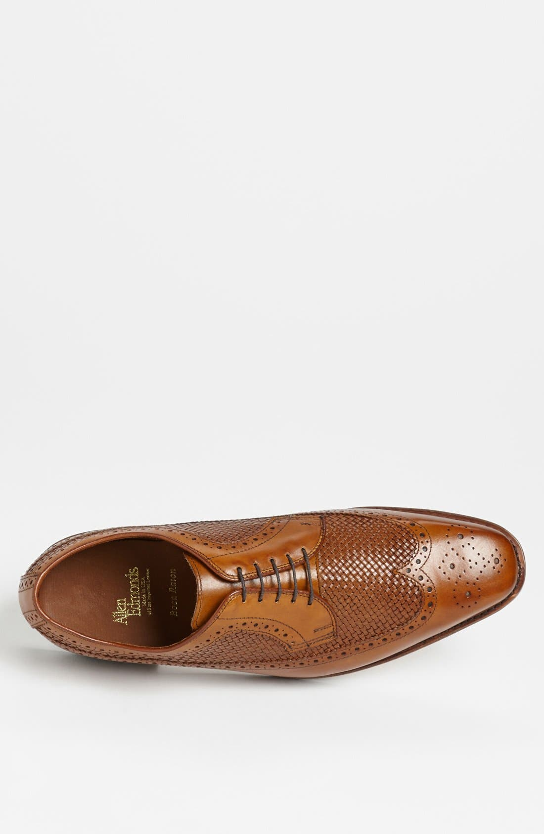 ALLEN EDMONDS,                             'Boca Raton' Longwing,                             Alternate thumbnail 4, color,                             210