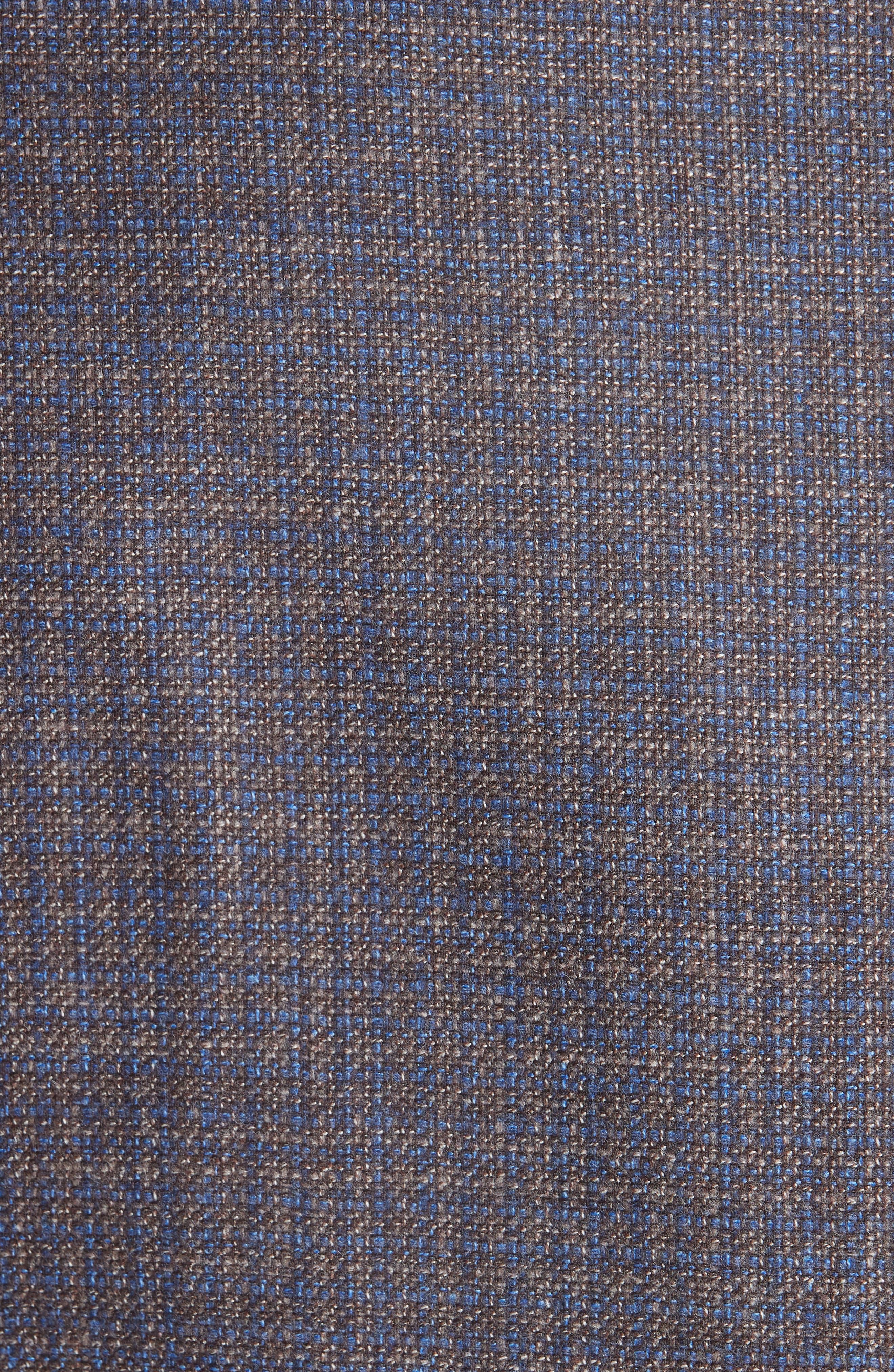 Classic Fit Check Wool & Cashmere Sport Coat,                             Alternate thumbnail 6, color,                             200
