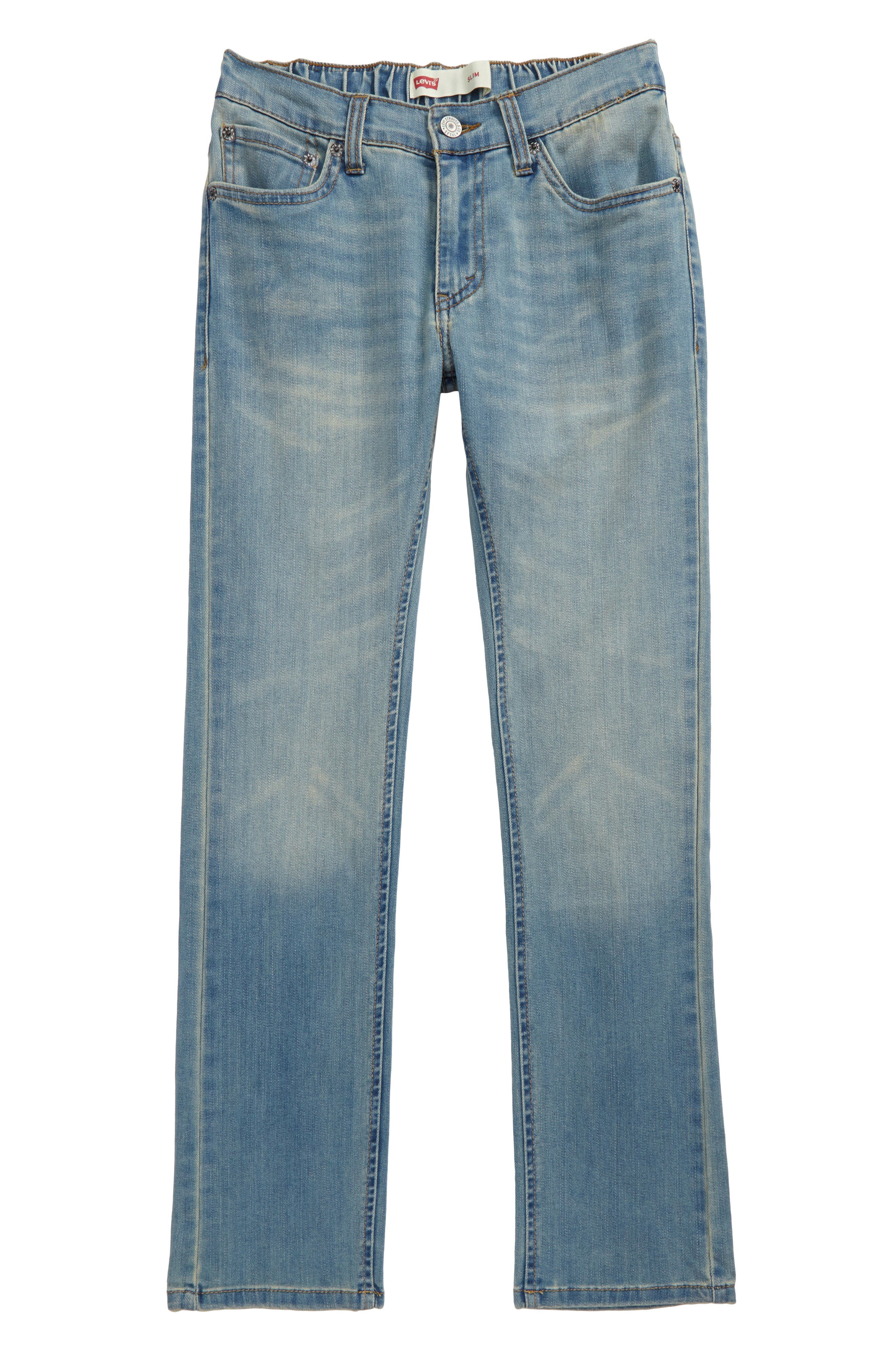 Comfort Slim Fit Straight Leg Jeans,                             Main thumbnail 1, color,                             400
