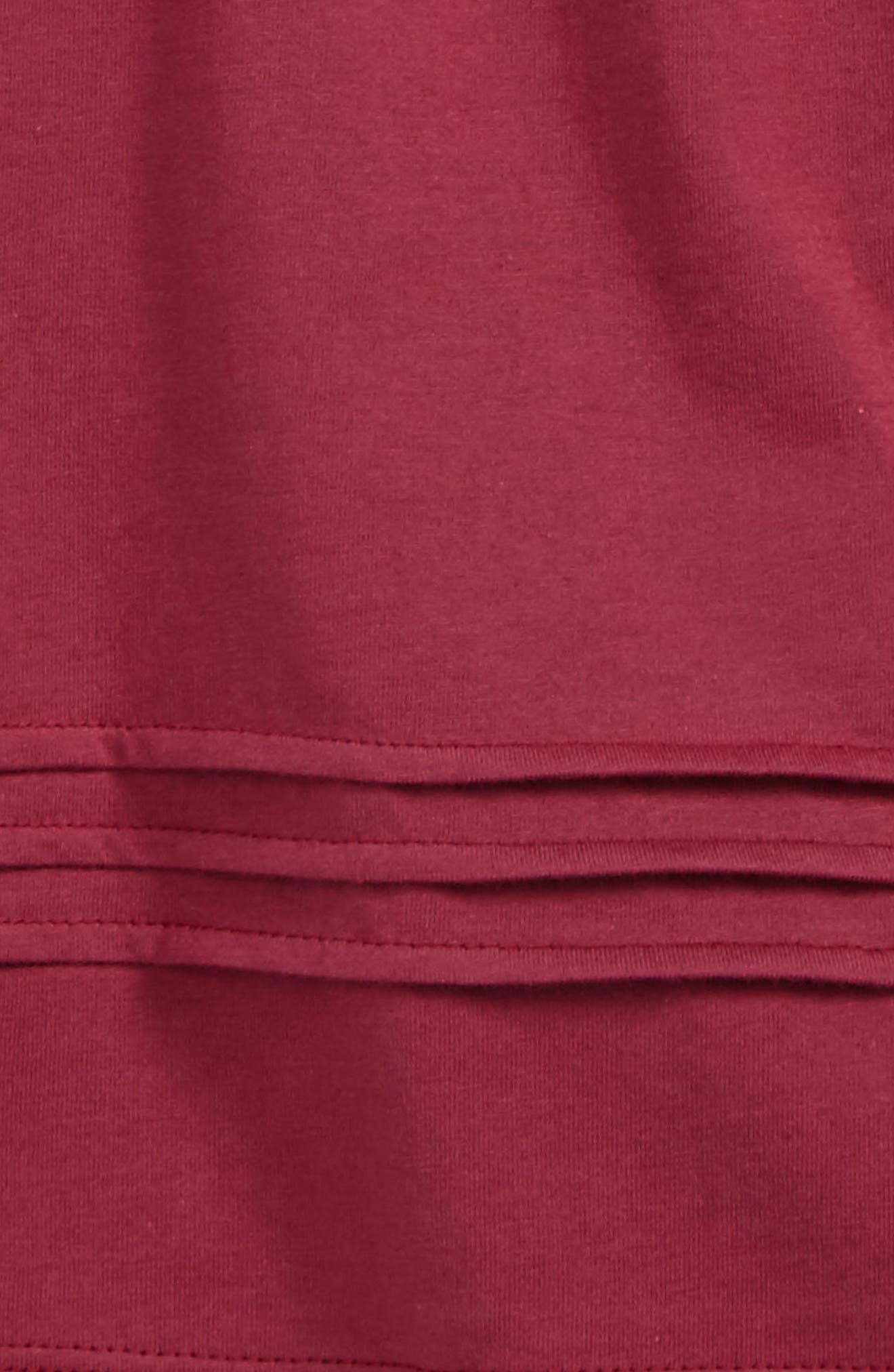 Gisselle Pleated Cuff Sleeve Tee,                             Alternate thumbnail 2, color,                             656