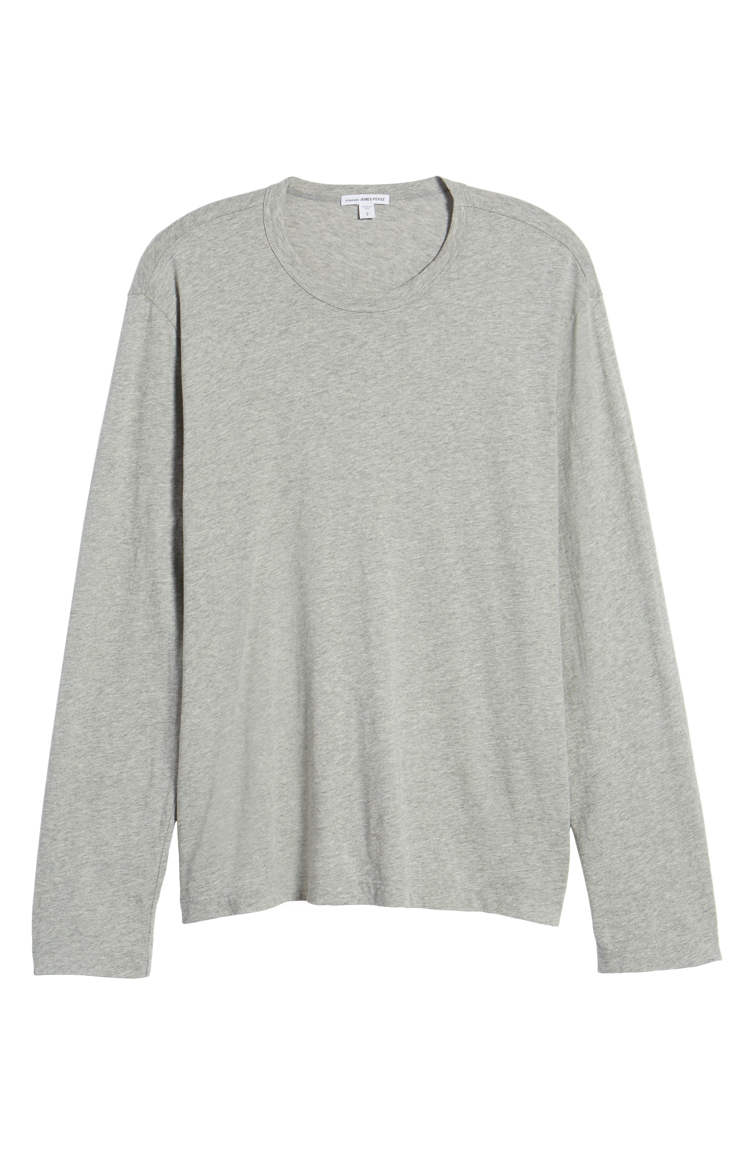 Crewneck Cotton Sweatshirt,                             Alternate thumbnail 6, color,